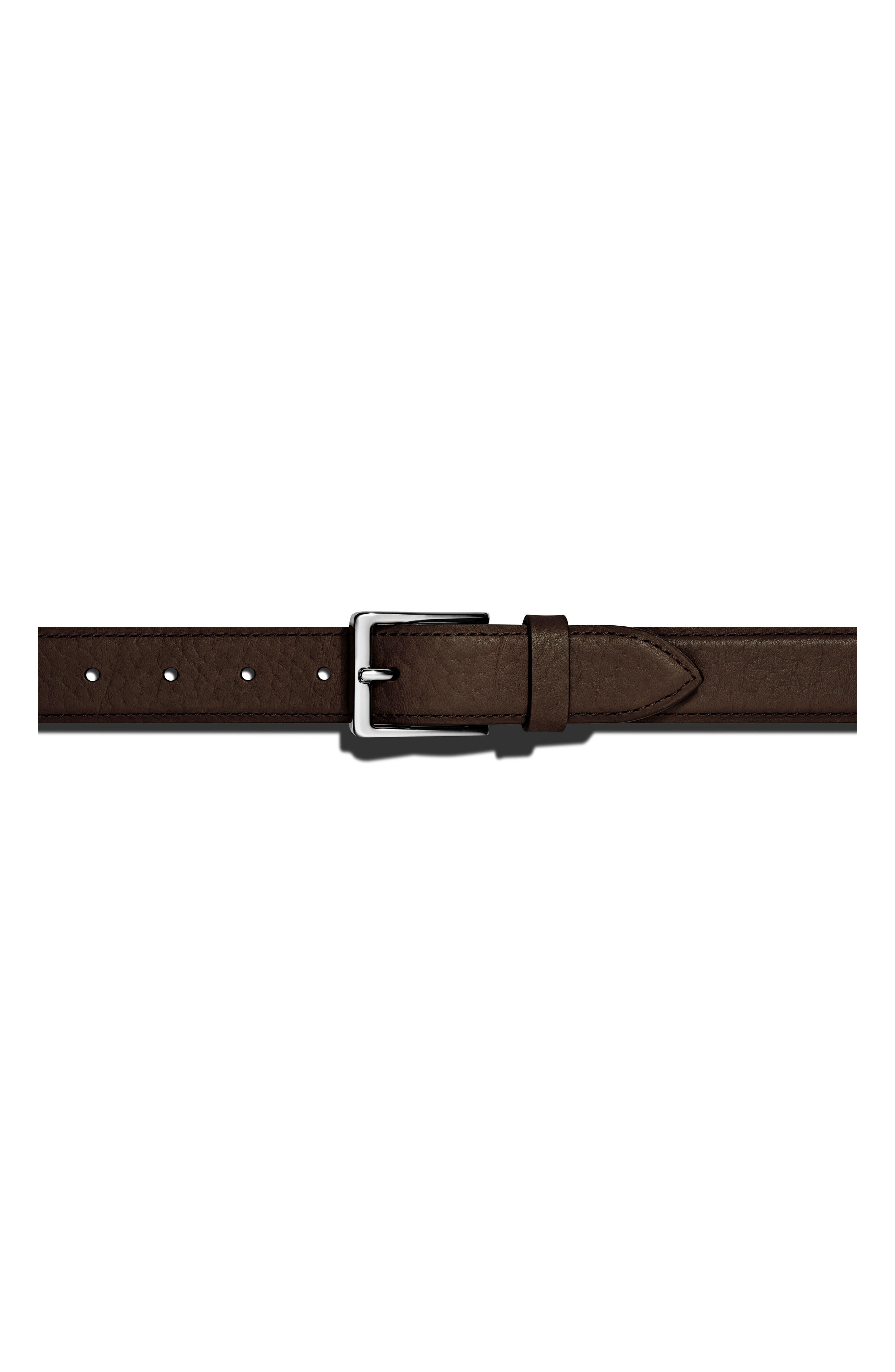 Shinola Bombay Tab Leather Belt