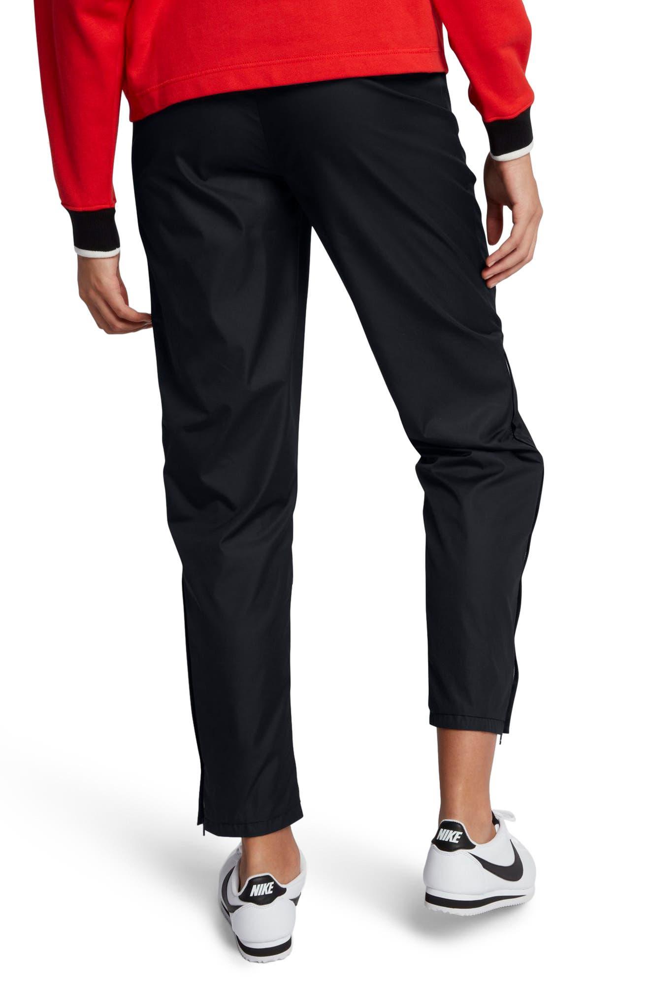 Sportswear Women's Stretch Faille Pants,                             Alternate thumbnail 3, color,                             Black
