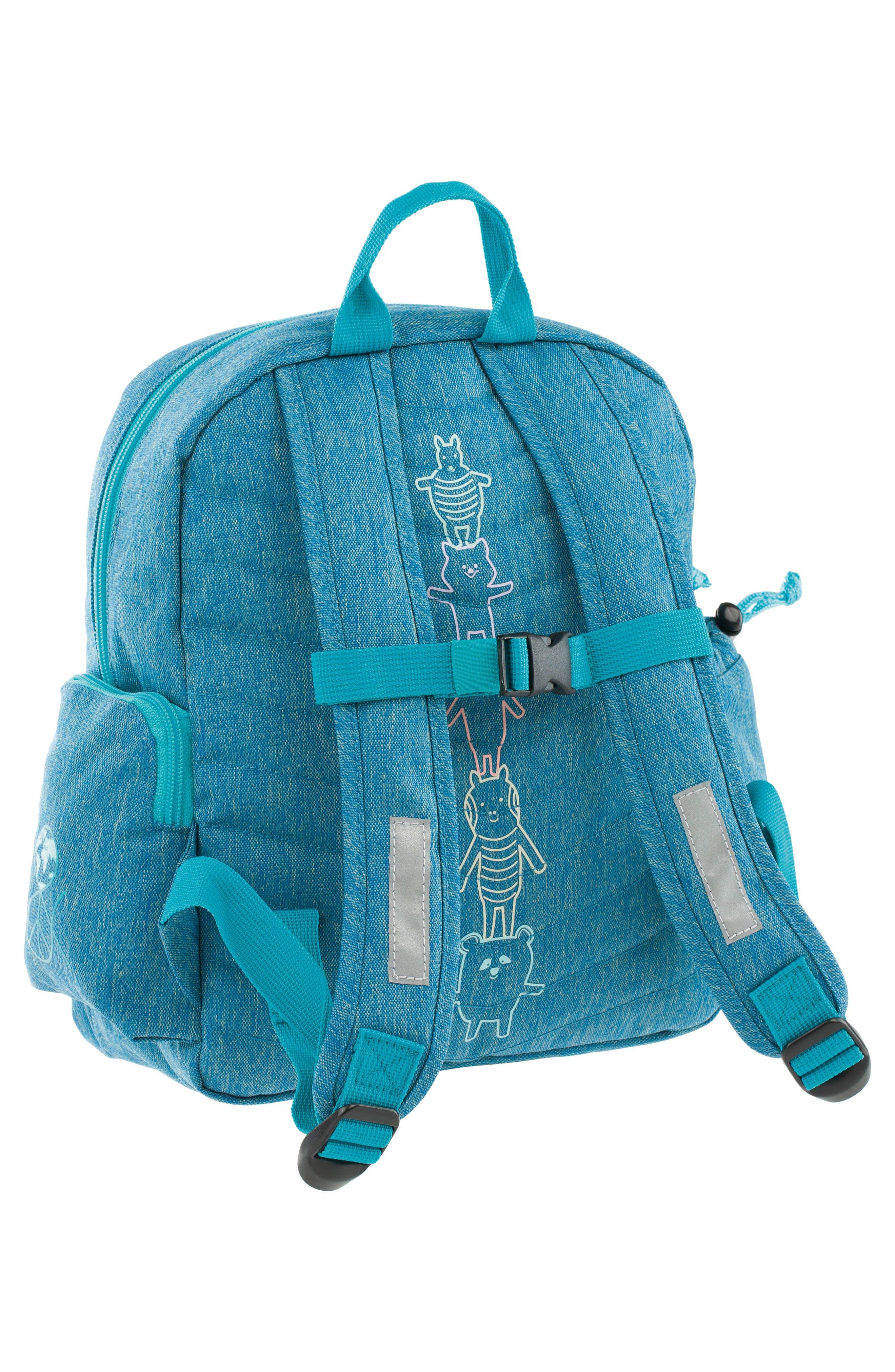 Medium About Friends Backpack,                             Alternate thumbnail 2, color,                             Melange Blue