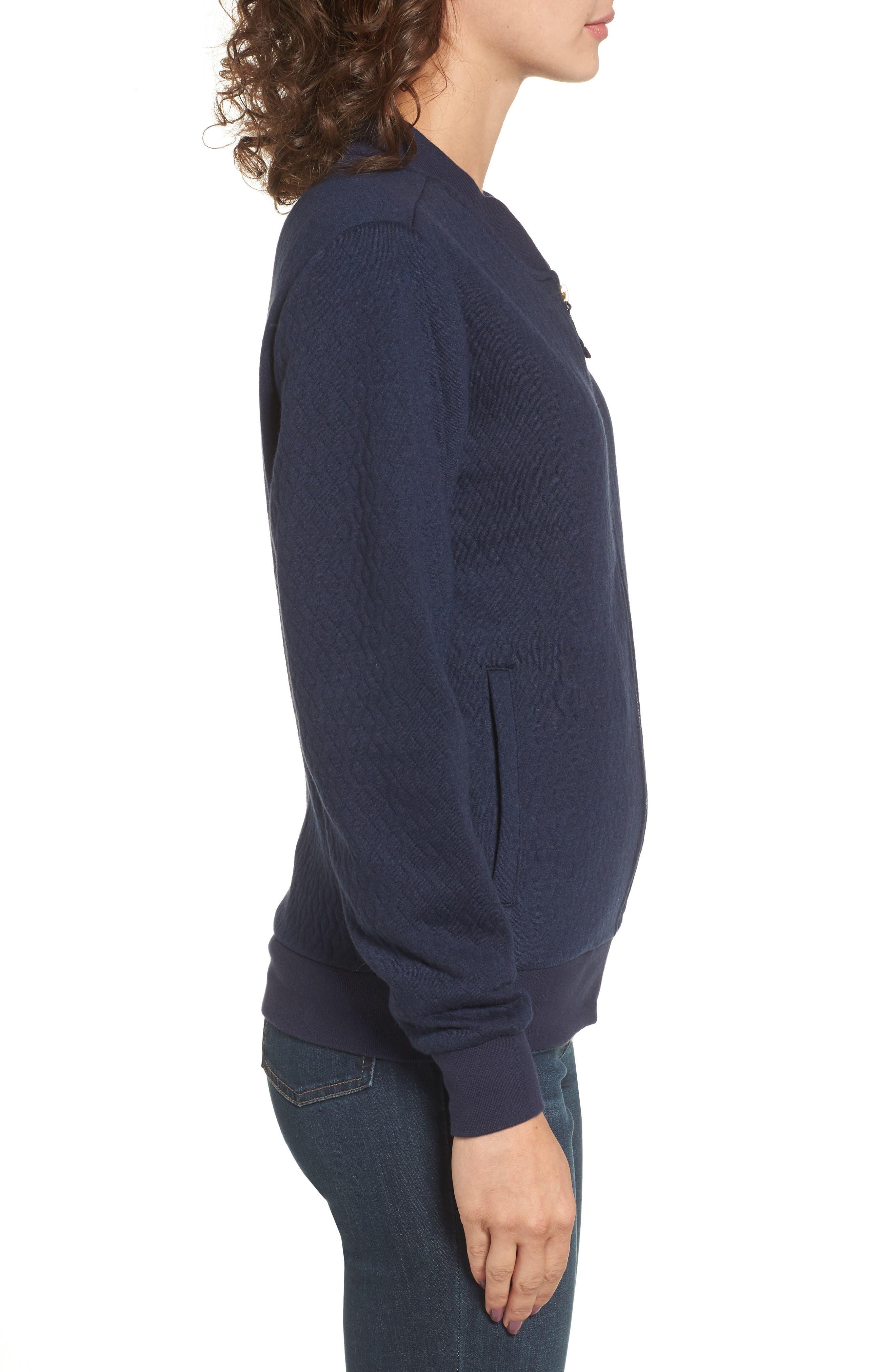 Alternate Image 3  - Joules Millie Bomber Sweatshirt Jacket