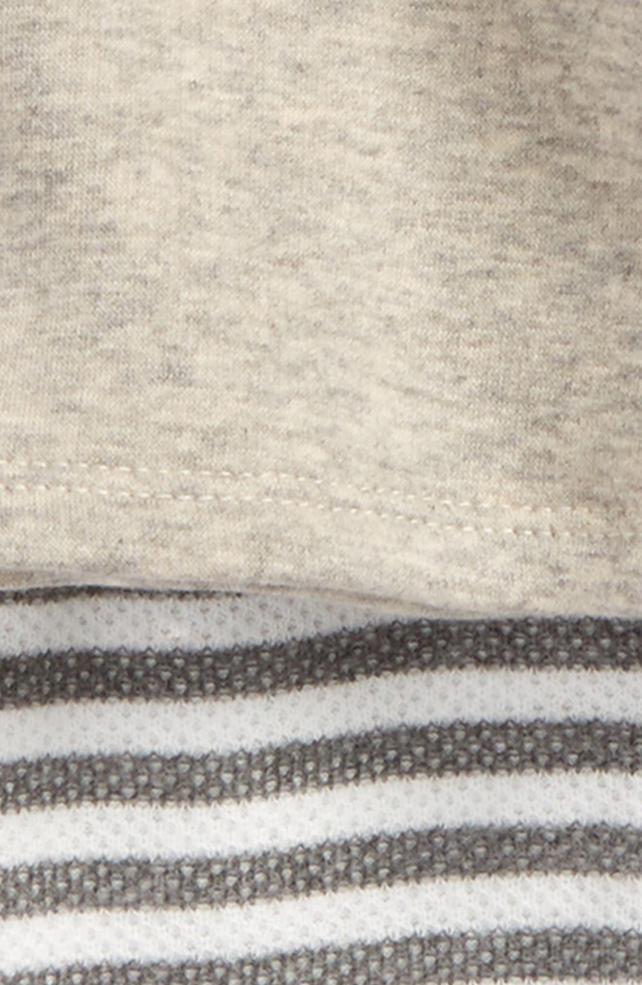 Cozy Bunny Sweatshirt & Leggings Set,                             Alternate thumbnail 2, color,                             Grey Mist Heather Rabbit