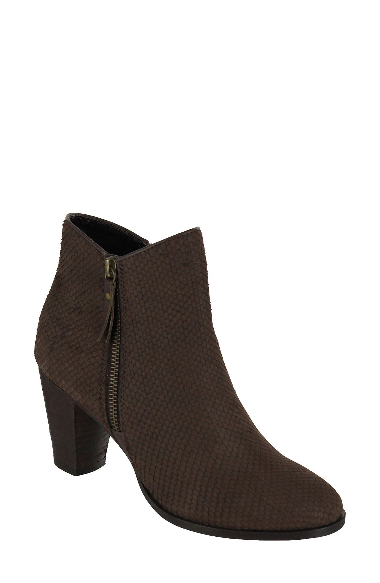 Alternate Image 1 Selected - MIA Maddock Block Heel Bootie (Women)