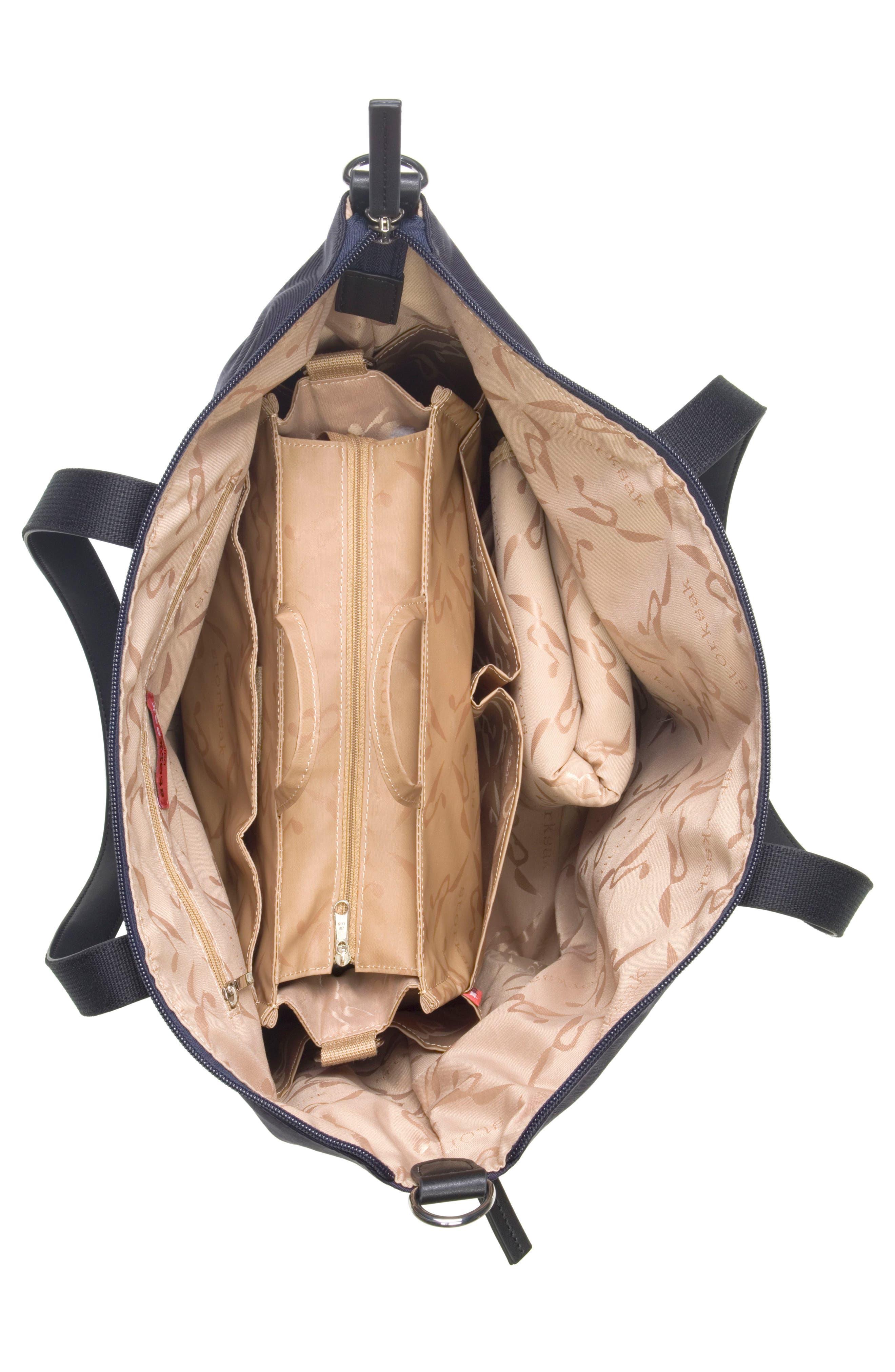 Noa Luxe Diaper Bag,                             Alternate thumbnail 5, color,                             Midnight Blue