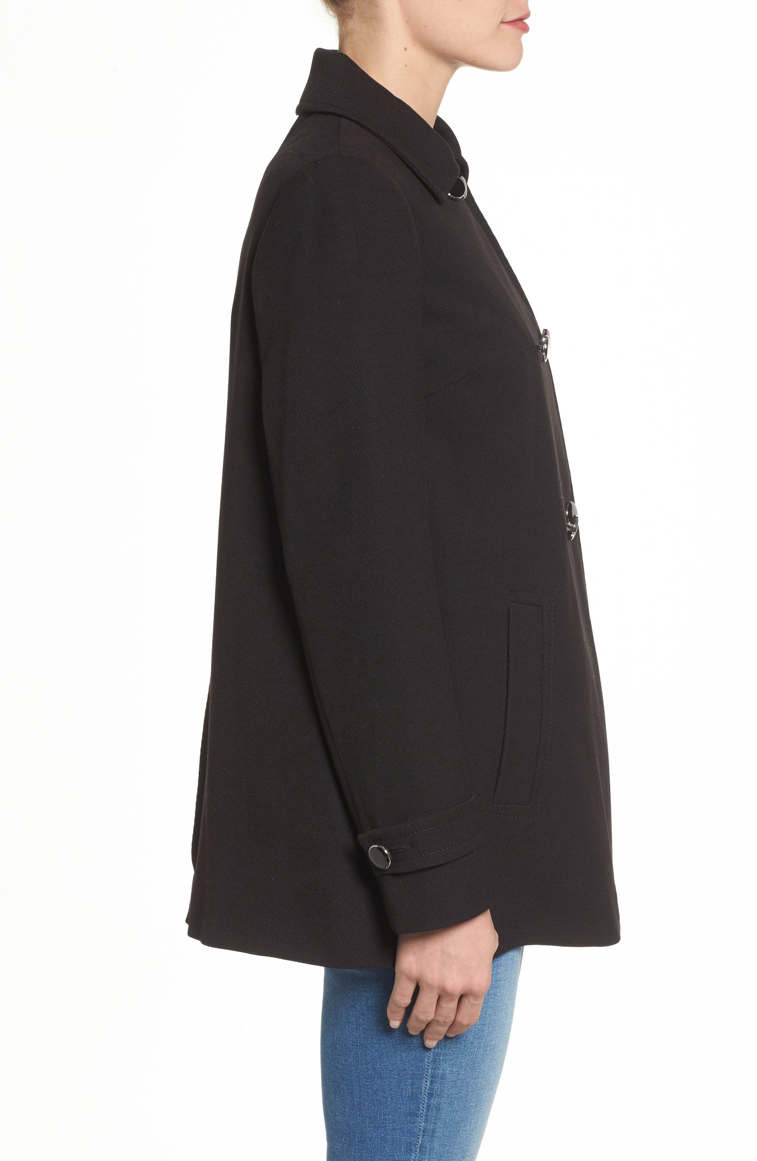 Alternate Image 3  - Dorothy Perkins Double Breasted Swing Coat