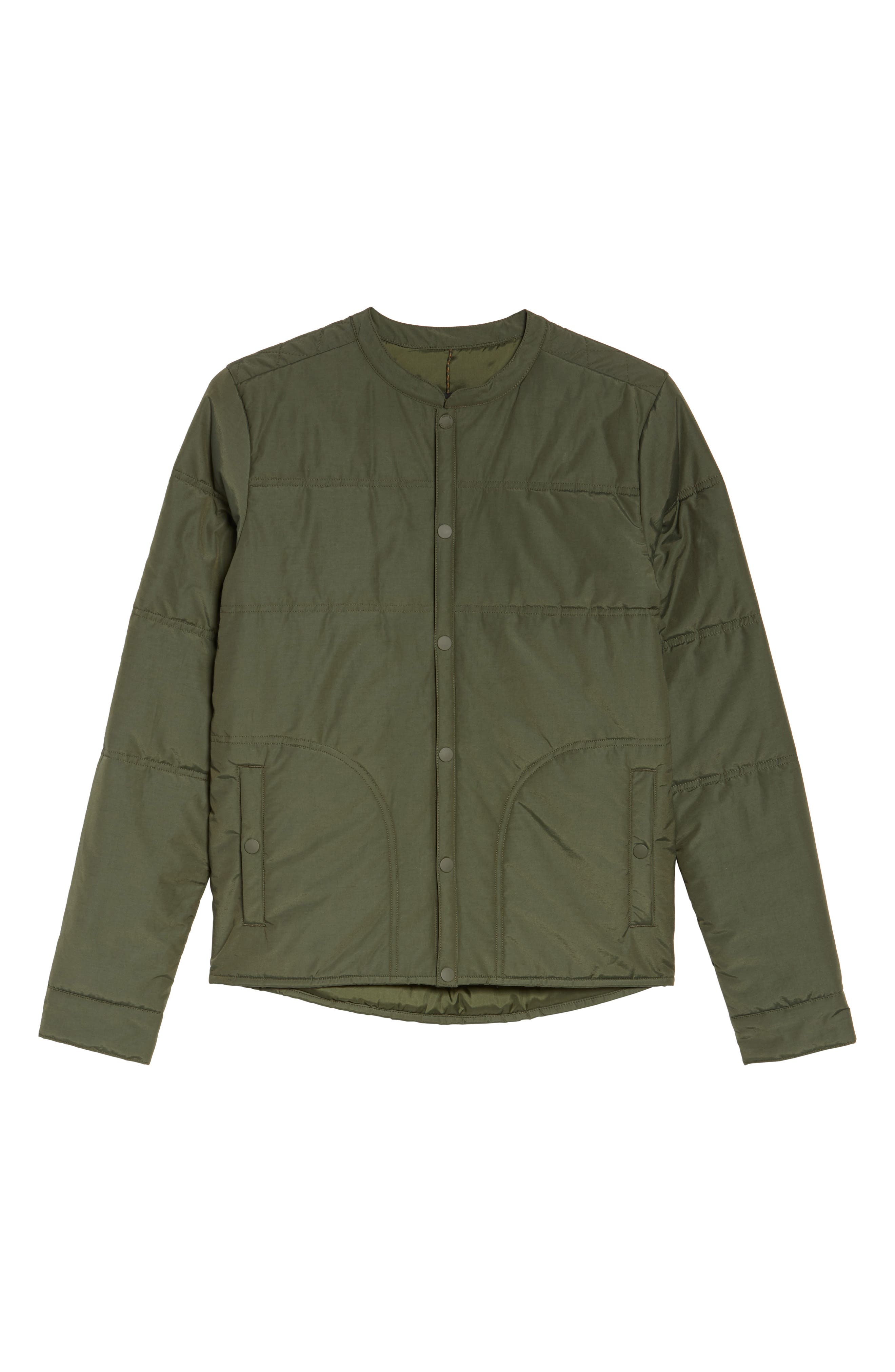 Arliss Insulator Jacket,                             Alternate thumbnail 7, color,                             Forest Night
