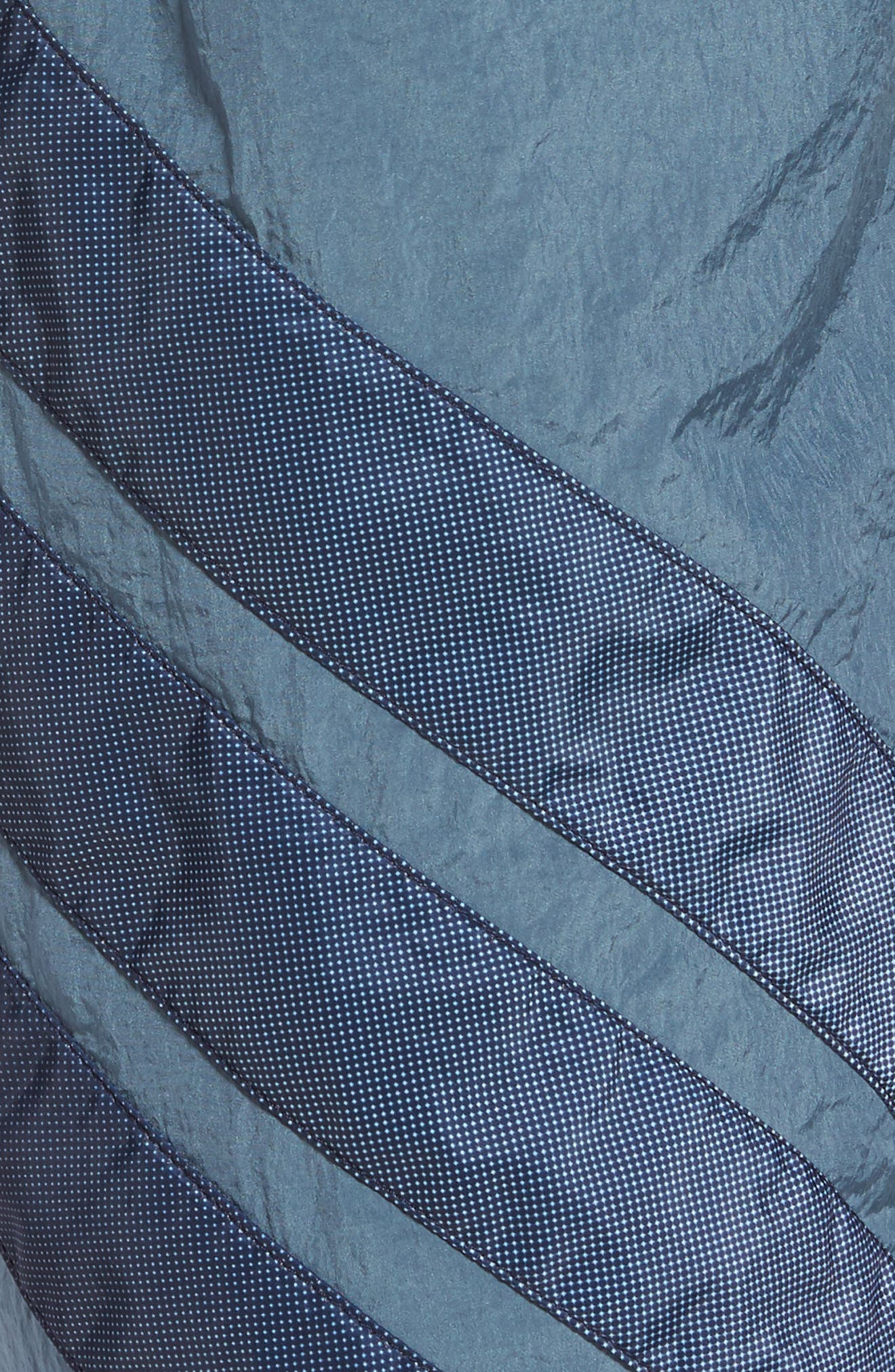 Originals V-Stripe Windpants,                             Alternate thumbnail 5, color,                             Raw Steel/ White