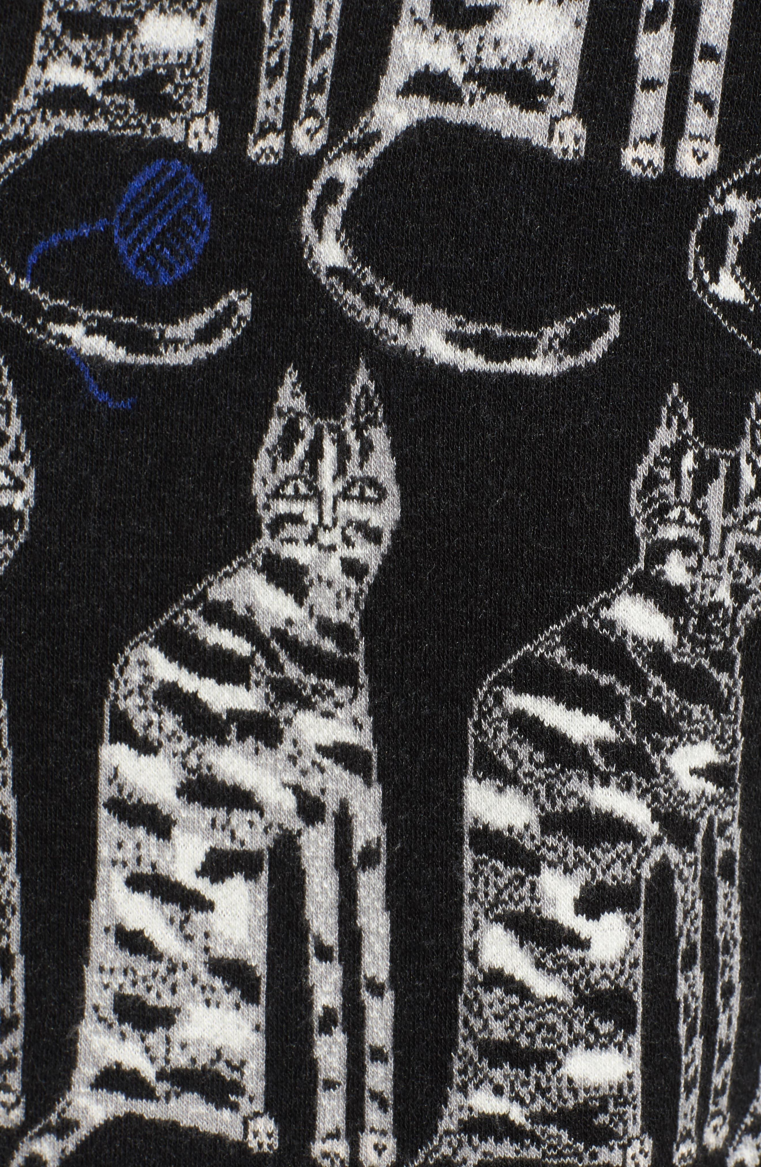 Alternate Image 5  - Paul & Joe Sister Intarsia Cat Sweater