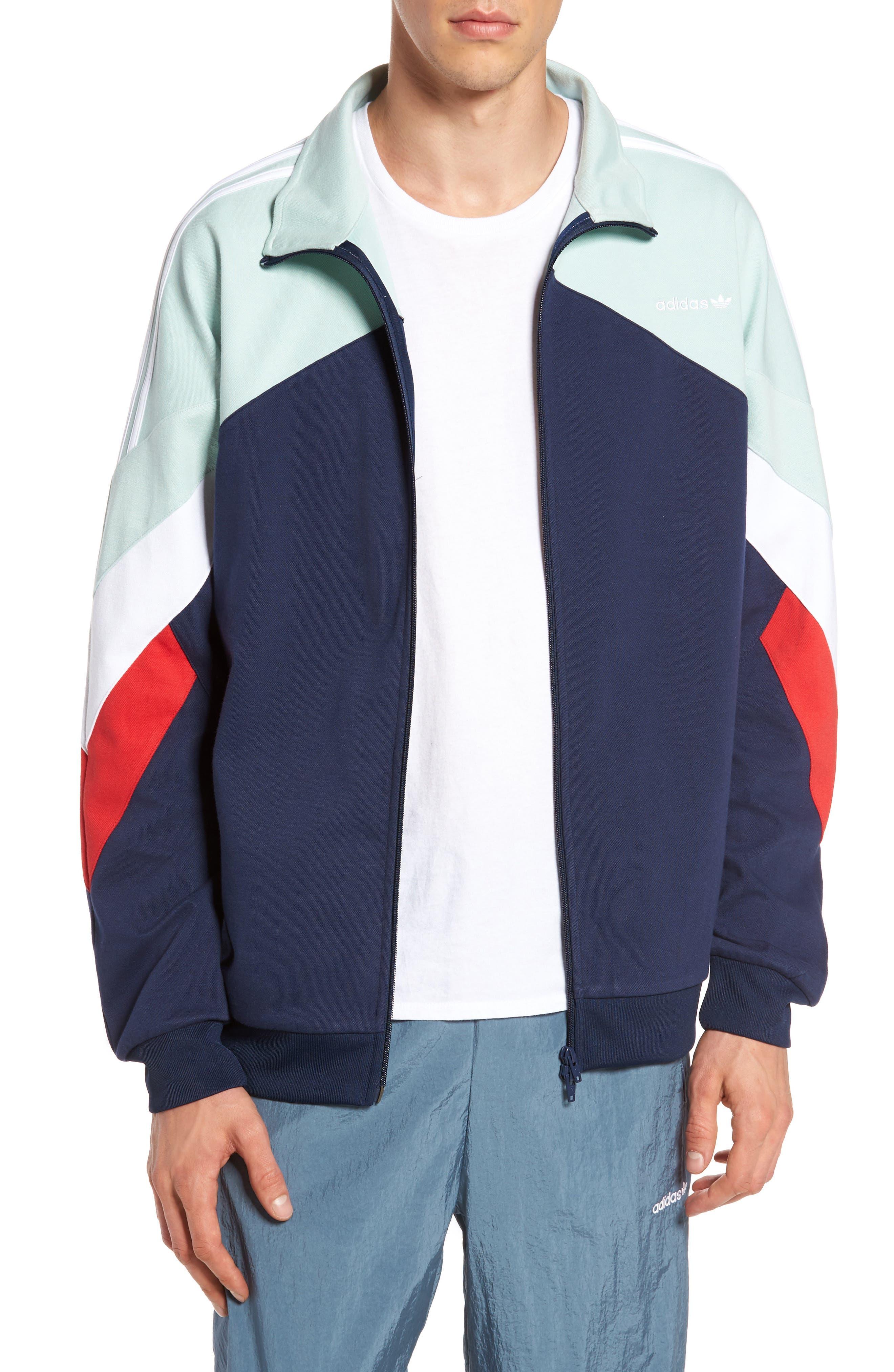 Originals Palmeston Track Jacket,                         Main,                         color, Collegiate Navy