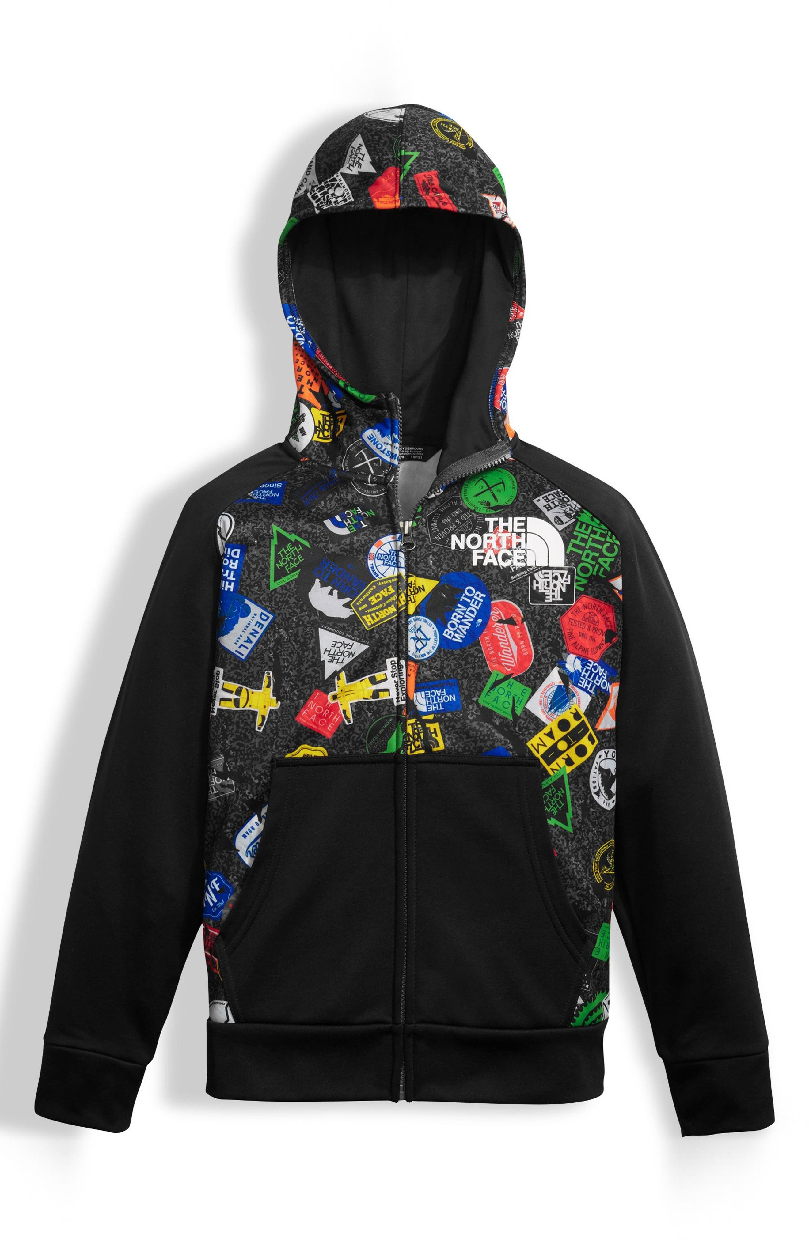 Main Image - The North Face 'Surgent' Full Zip Hoodie (Little Boys & Big Boys)