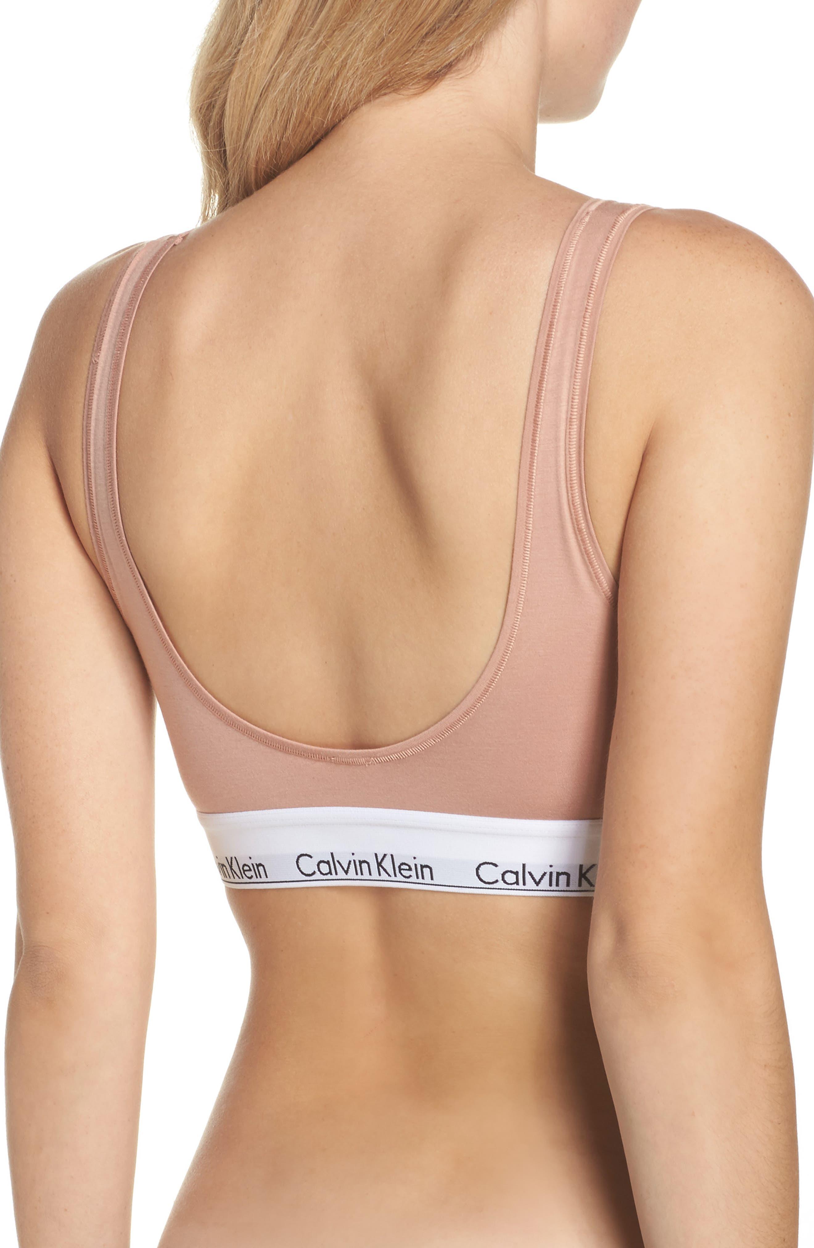 Alternate Image 2  - Calvin Klein Modern U-Back Bralette