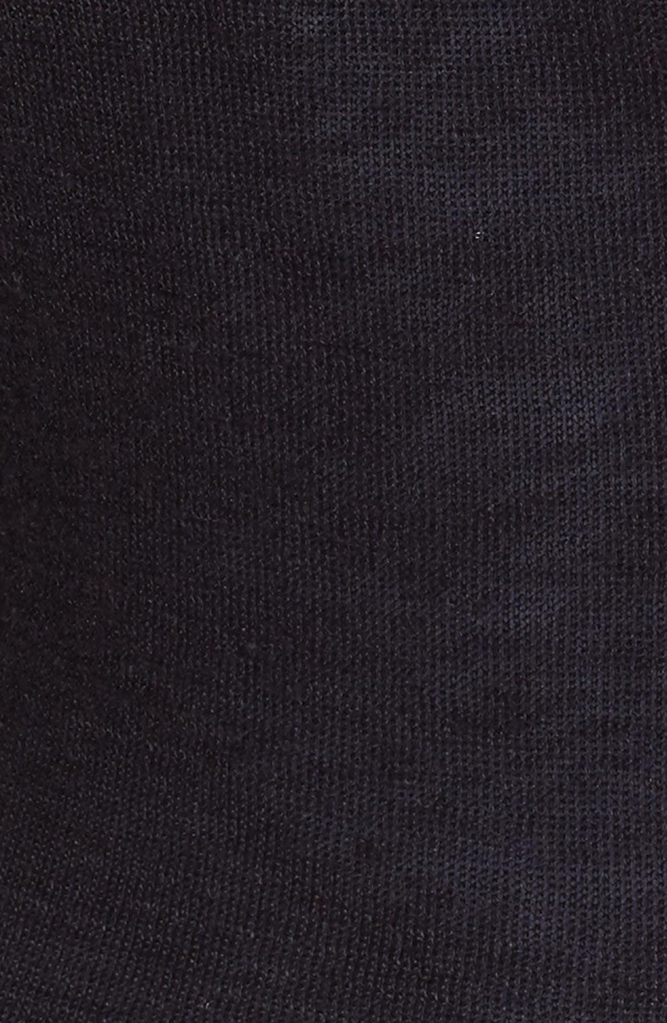 4-Way Convertible Three Quarter Sleeve Cardigan,                             Alternate thumbnail 6, color,                             Midnight