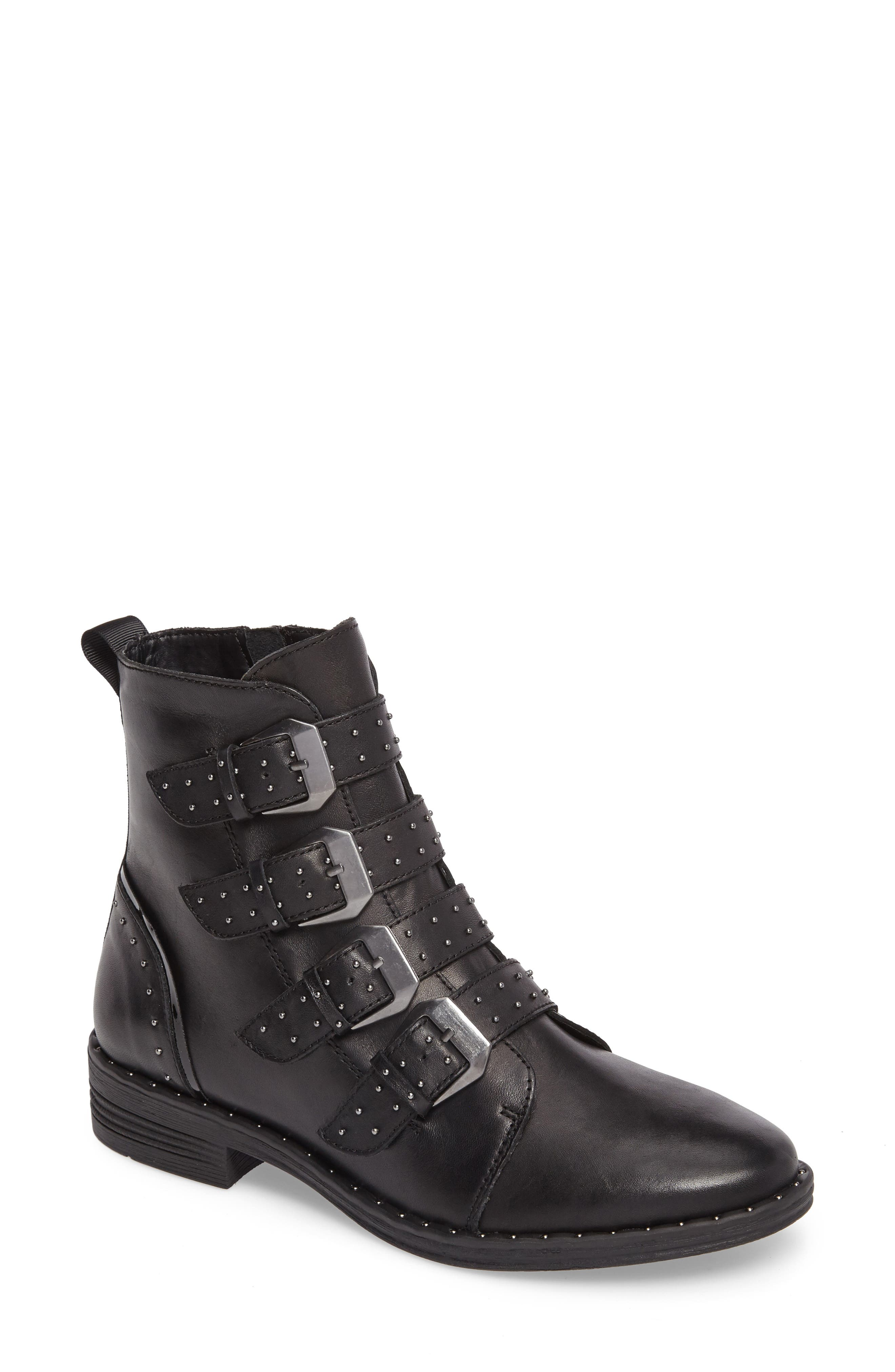 Alternate Image 1 Selected - Steve Madden Pursue Buckle Bootie (Women)