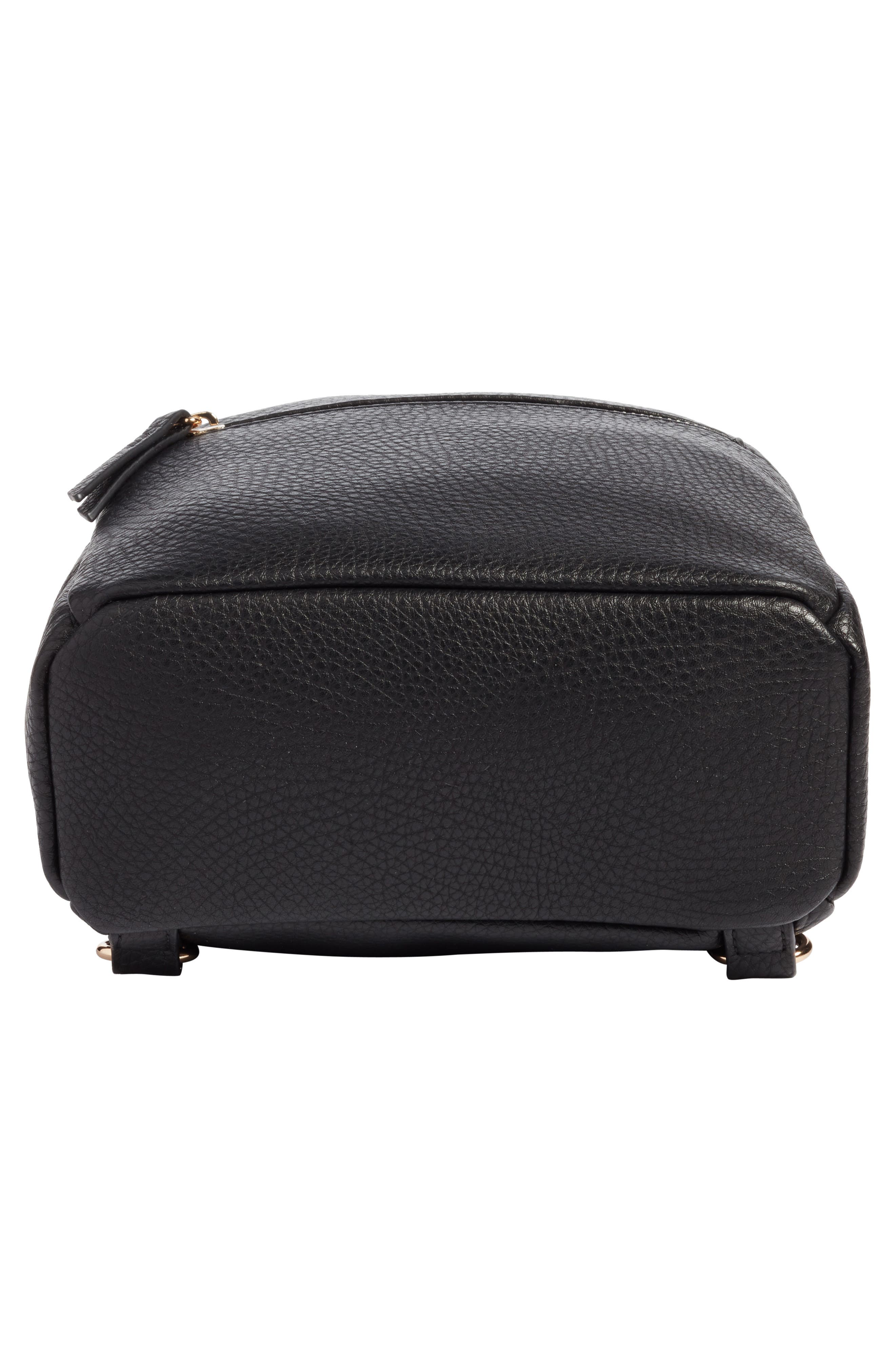 Alternate Image 4  - Mali + Lili Faux Leather Backpack