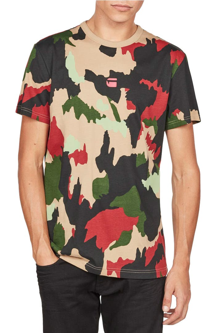 g star raw alpenflage camo t shirt nordstrom