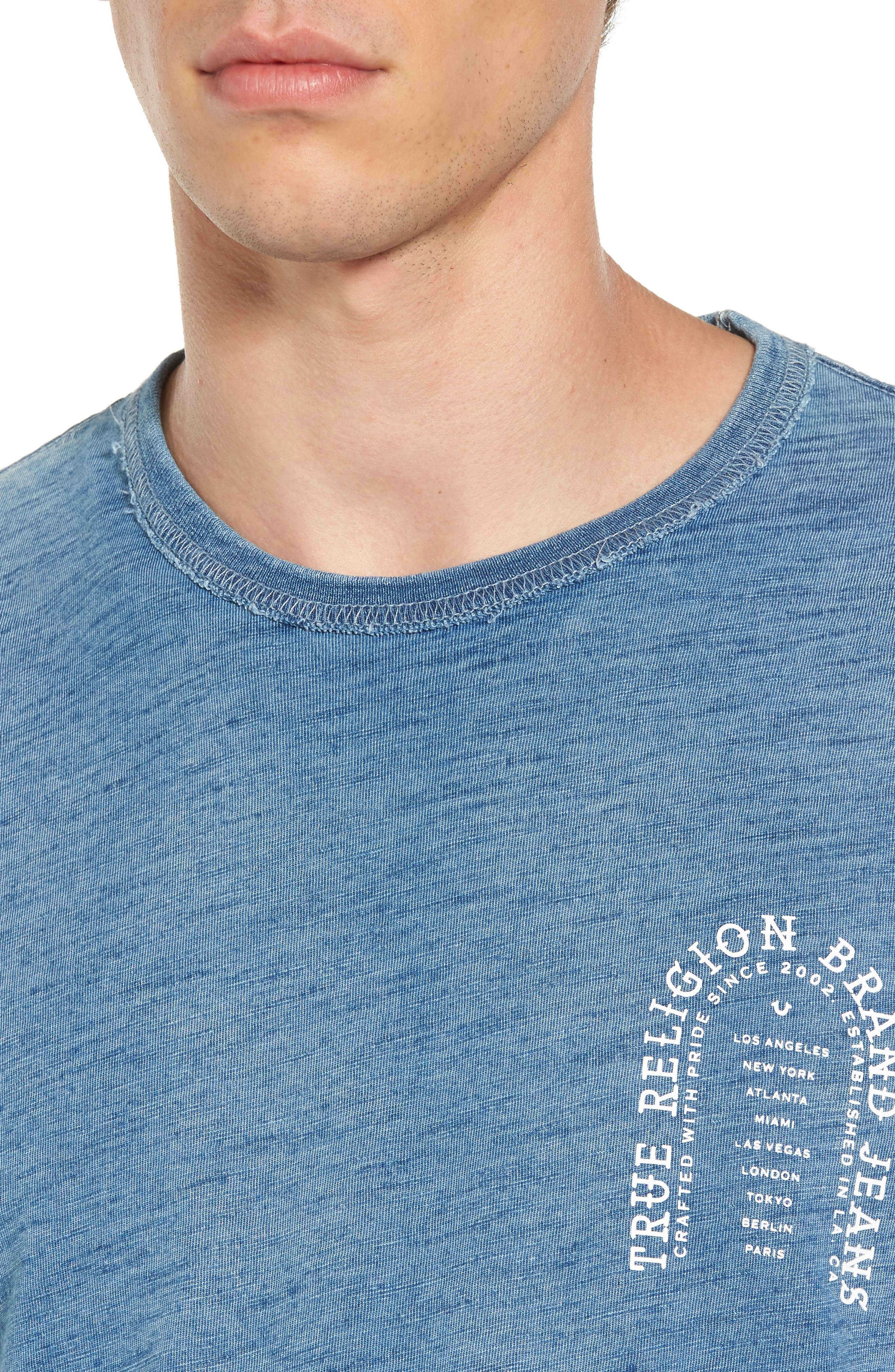 Alternate Image 4  - True Religion Brand Jeans Arch T-Shirt