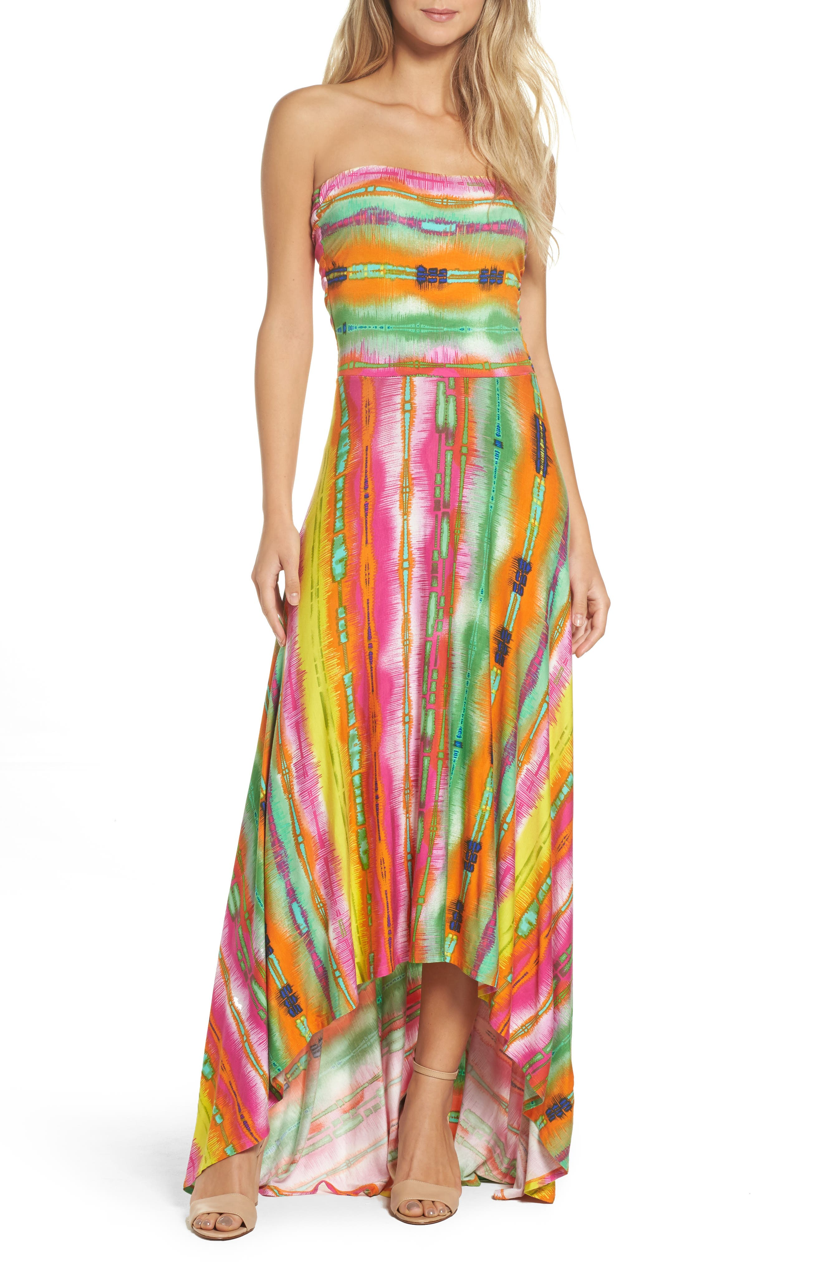 Casual Maxi Strapless Dress