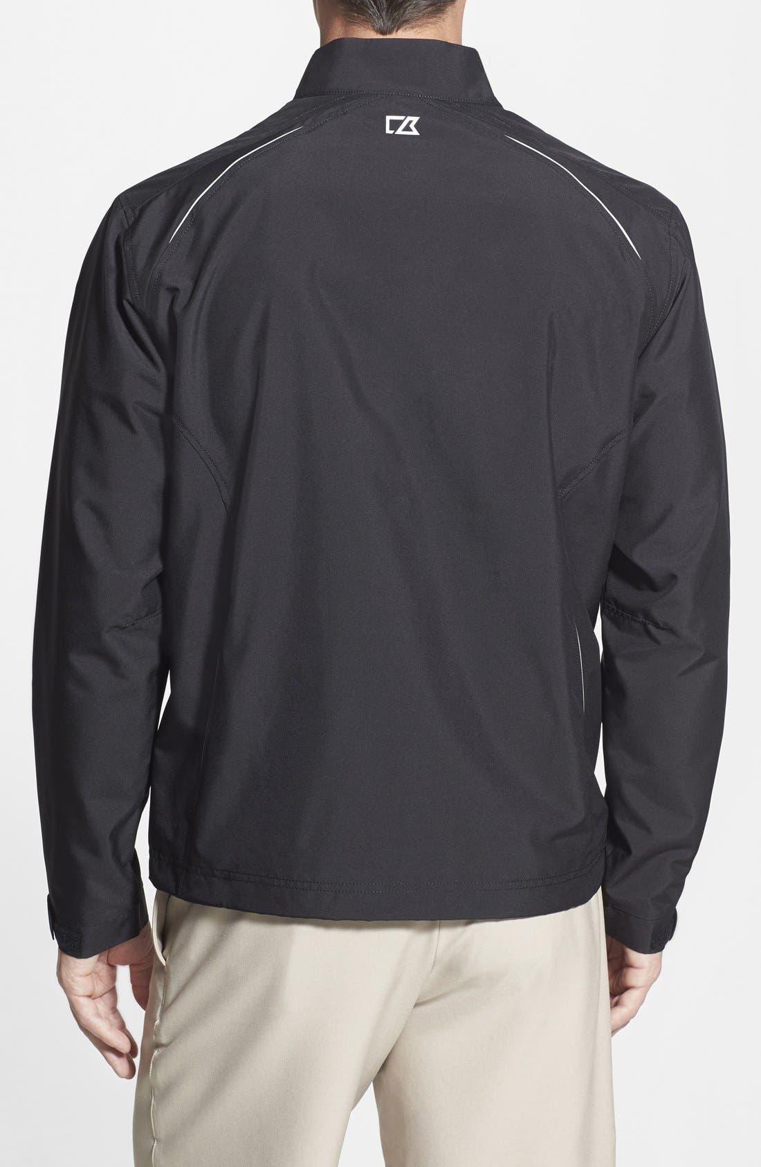Oakland Raiders - Beacon WeatherTec Wind & Water Resistant Jacket,                             Alternate thumbnail 2, color,                             Black