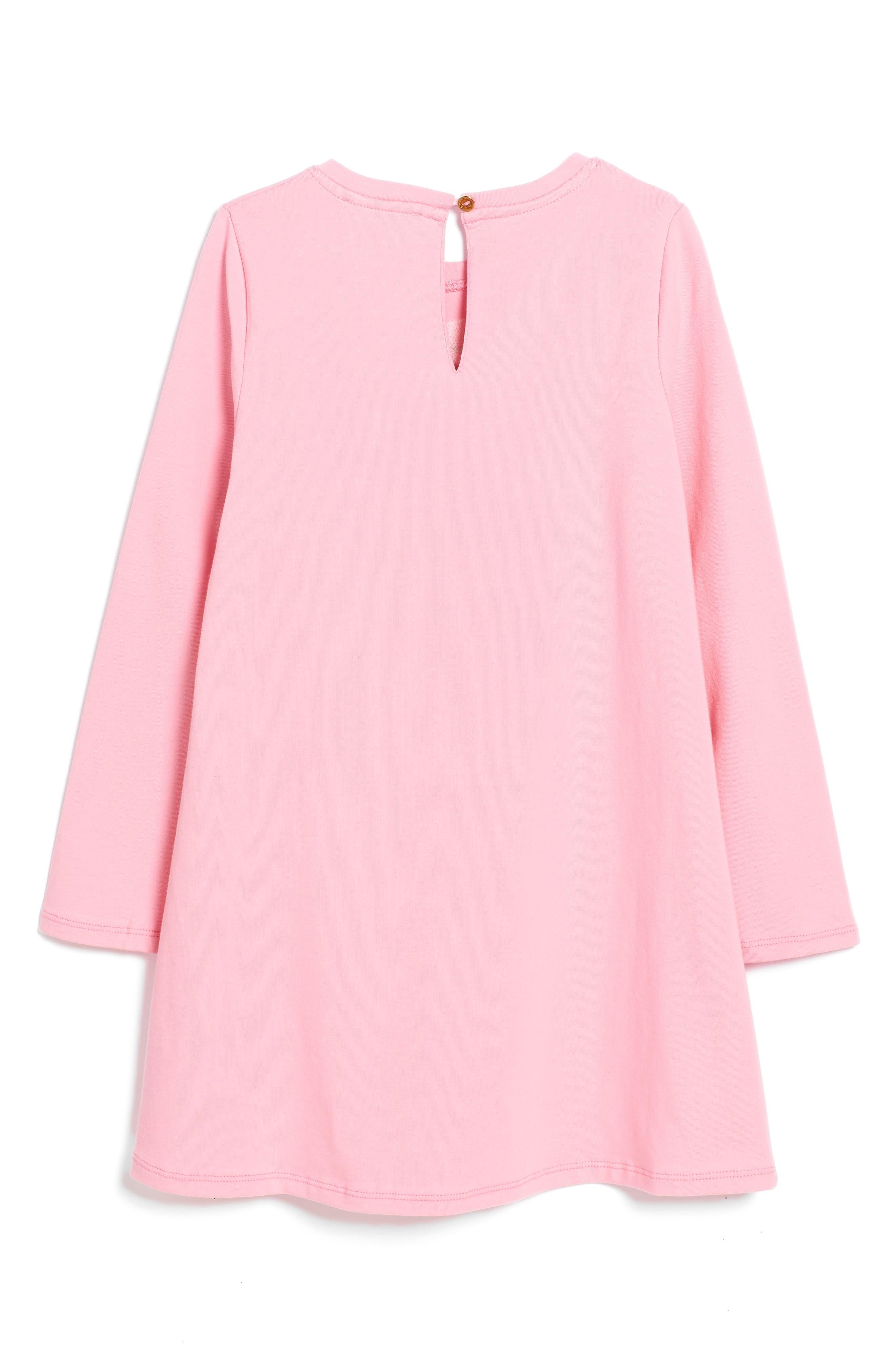 Alternate Image 2  - kate spade new york rose dress (Big Girls)