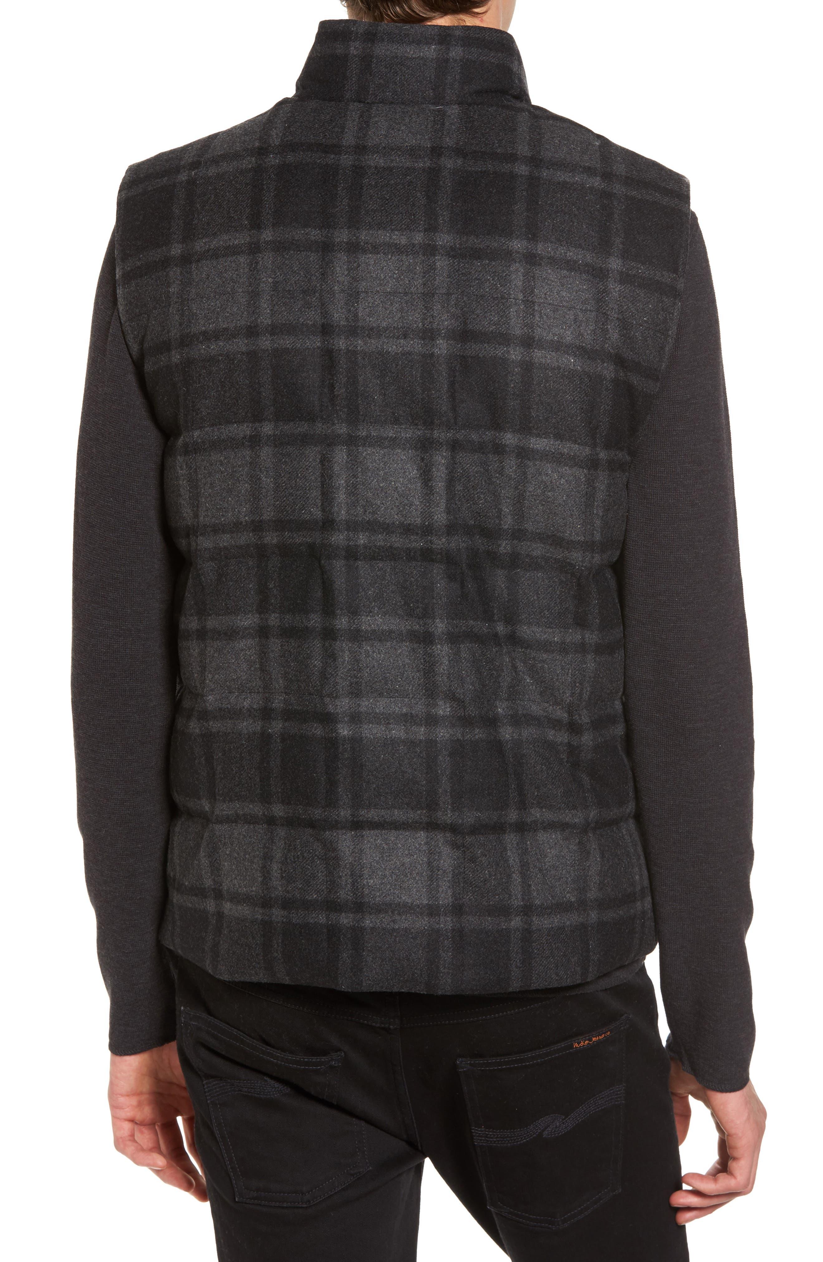 Yosemite Jacket,                             Alternate thumbnail 2, color,                             Black/ Charcoal Plaid