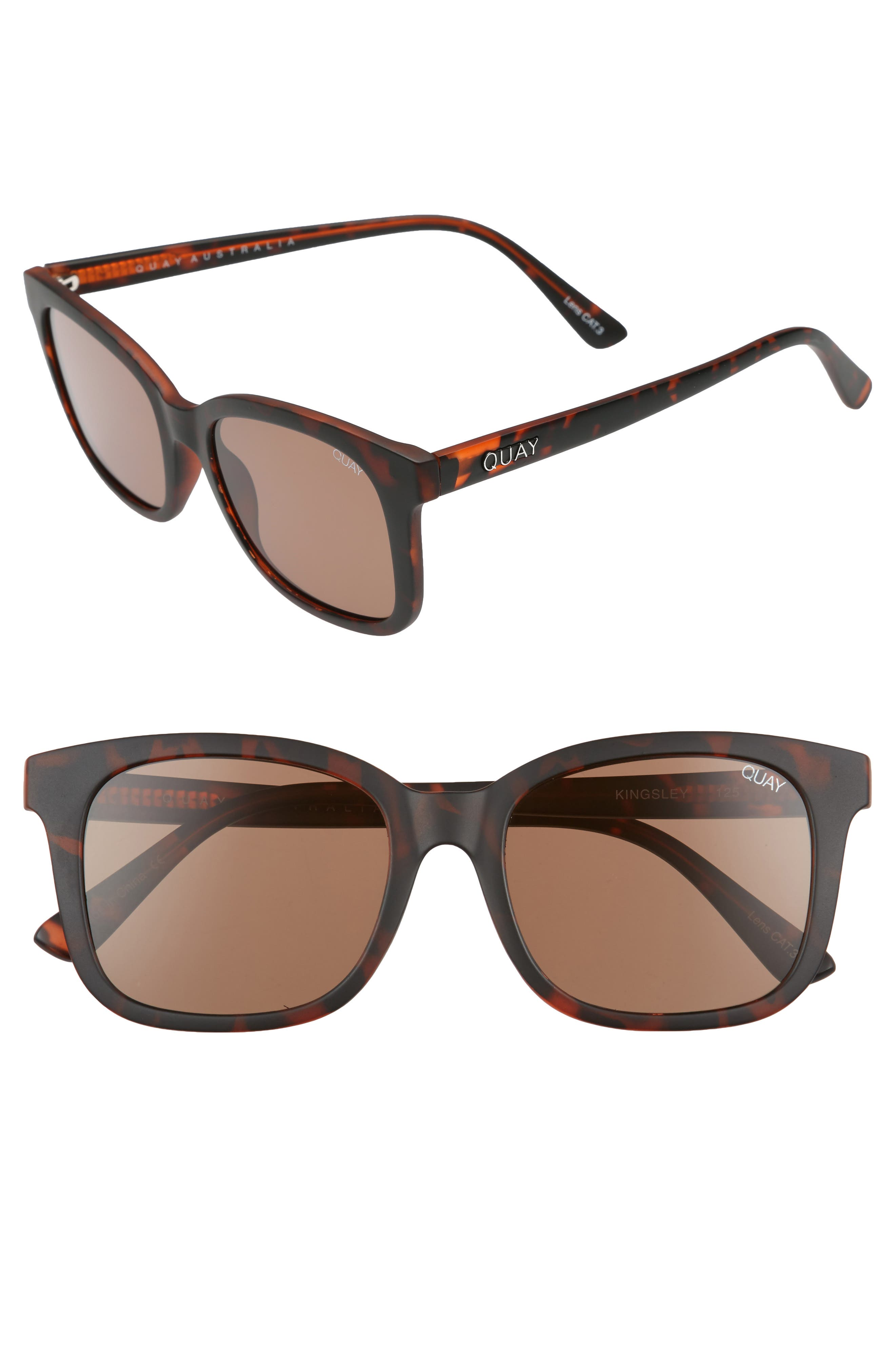 Quay Australia Kingsley 52mm Sunglasses