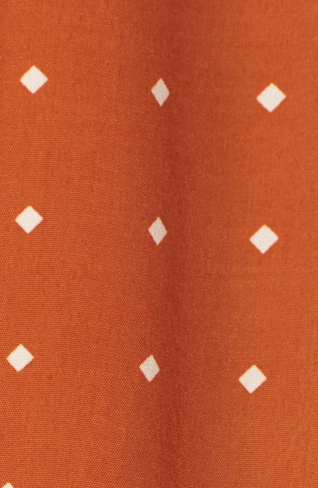 Santa Rosa Maxi Dress,                             Alternate thumbnail 5, color,                             Stefano Print - Ginger