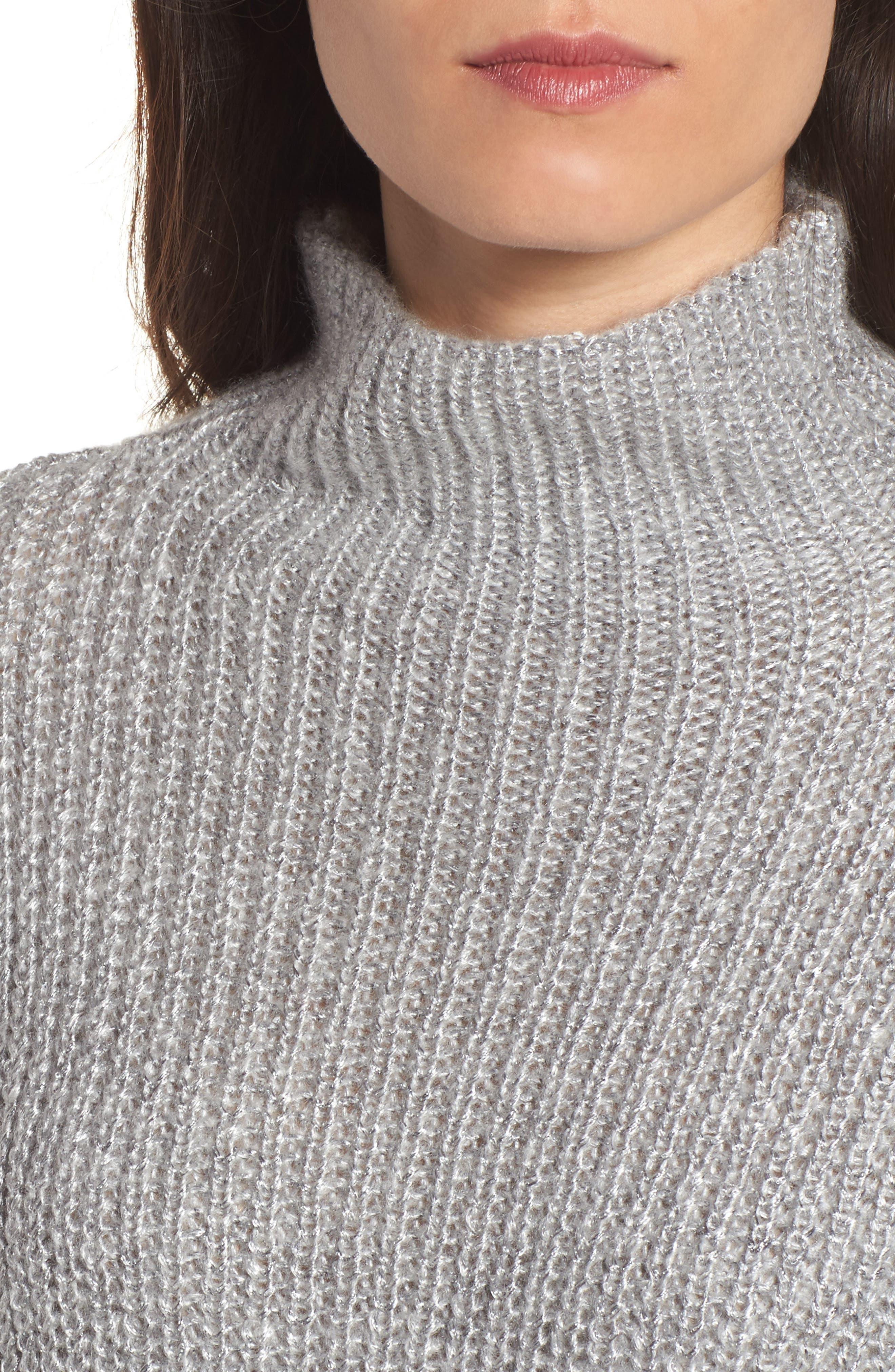 Alternate Image 4  - Trouvé Rib Knit Sweater