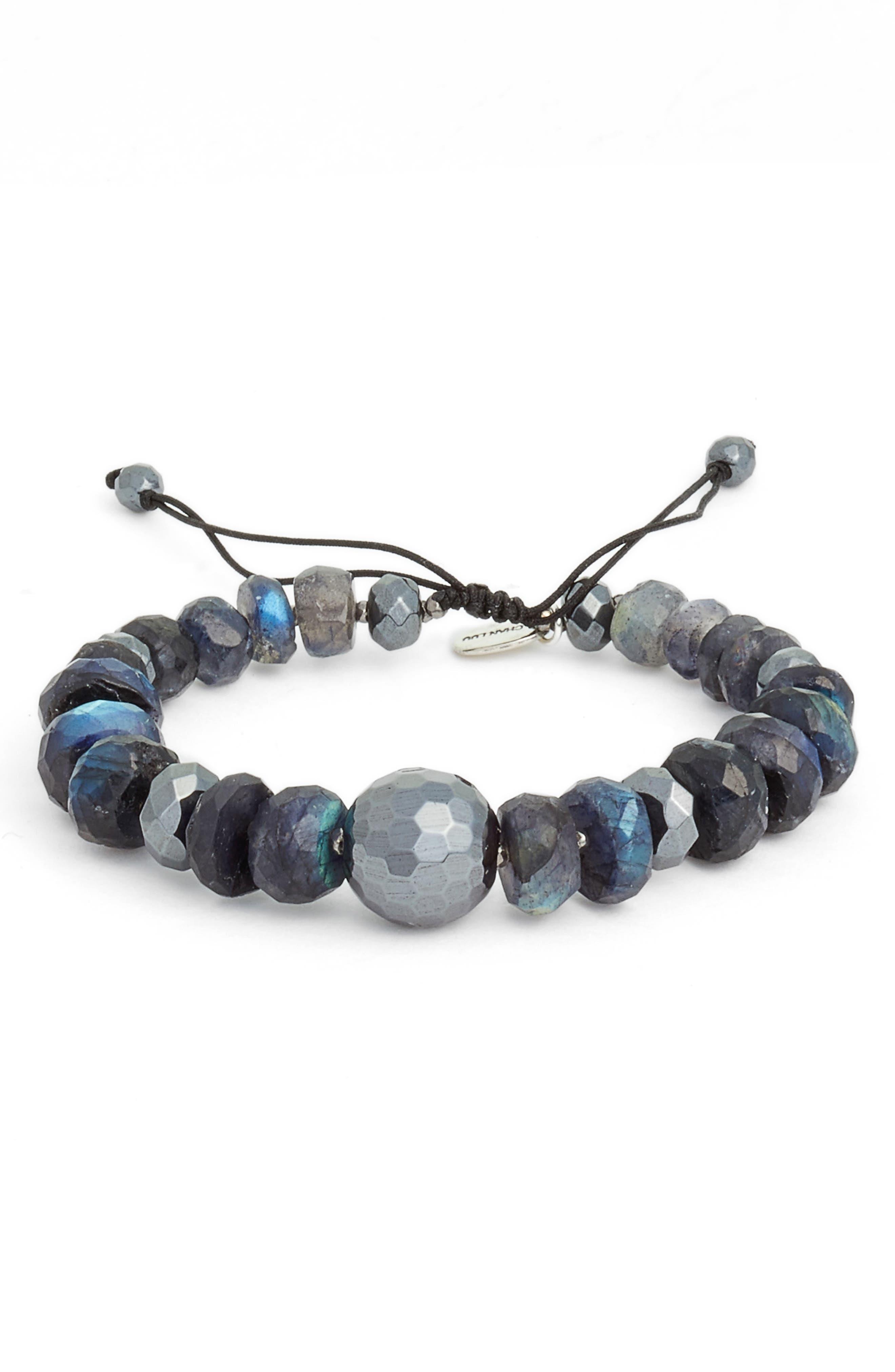 Chan Luu Mystic Semiprecious Stone Adjustable Bracelet