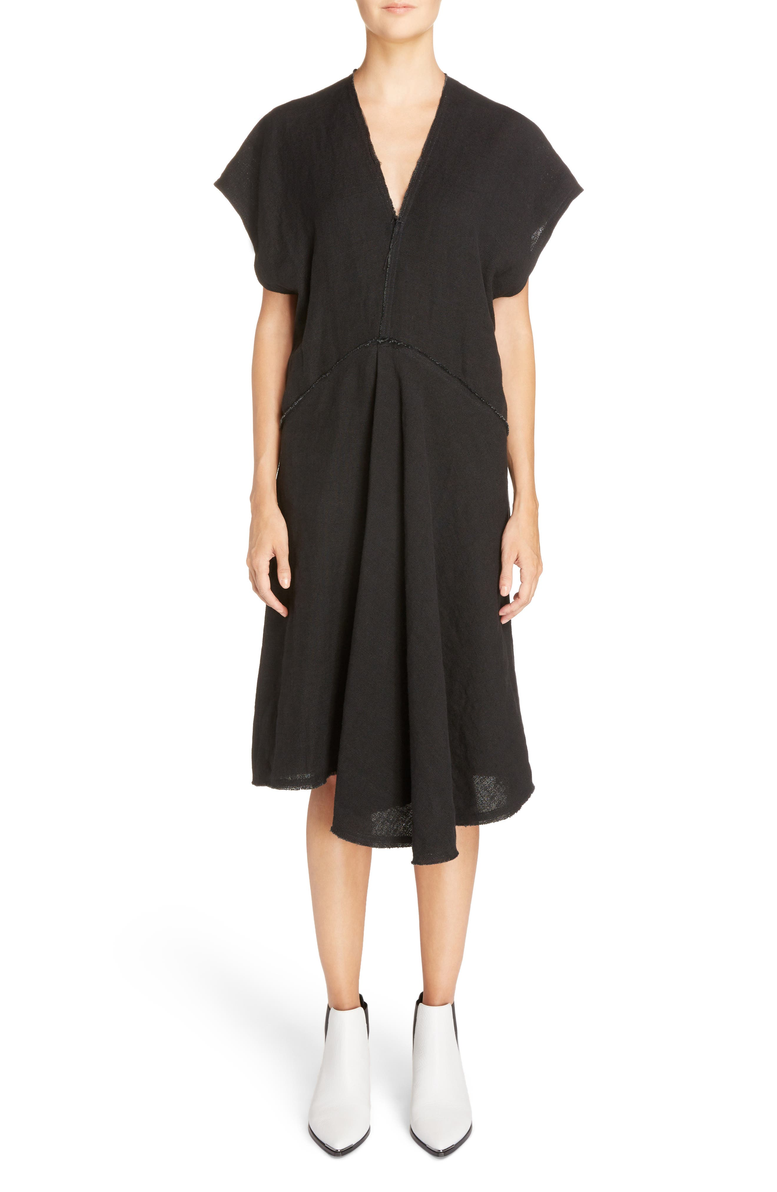 Jessa Shirtdress,                             Main thumbnail 1, color,                             Black