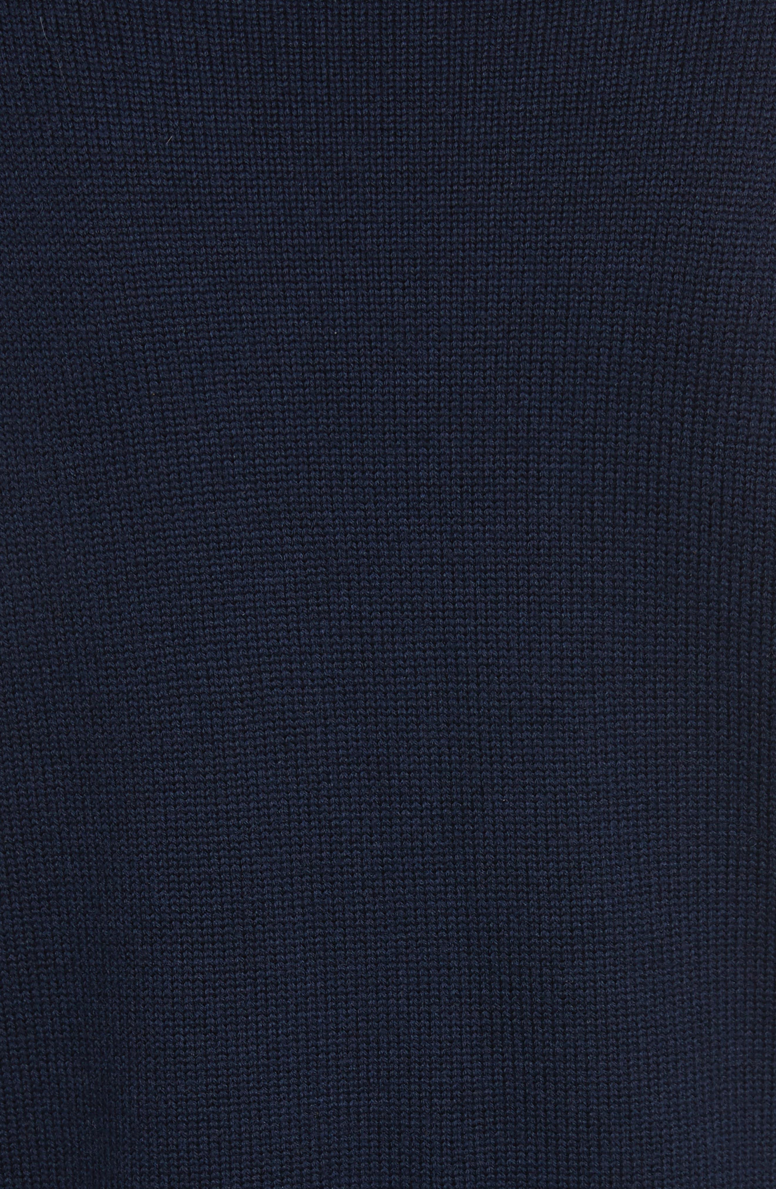 Alternate Image 6  - Veronica Beard Pia Floral Turtleneck Sweater