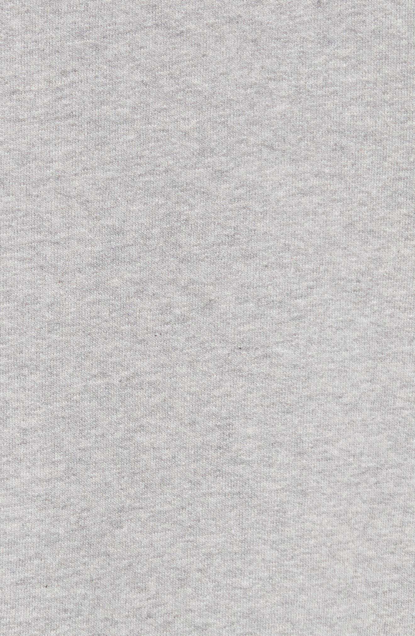 Alternate Image 5  - Burberry Alcobaca Rib Knit Sleeve Sweatshirt