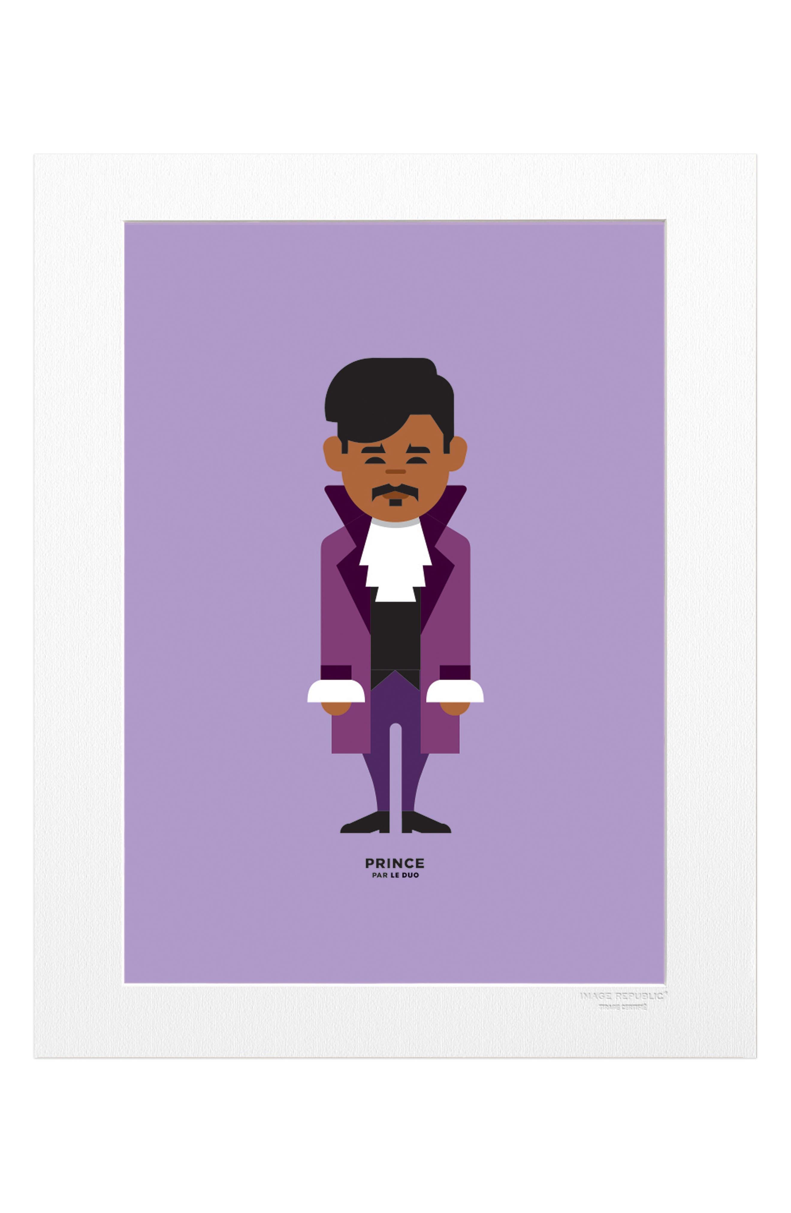 Le Duo Prince Print,                         Main,                         color, Purple