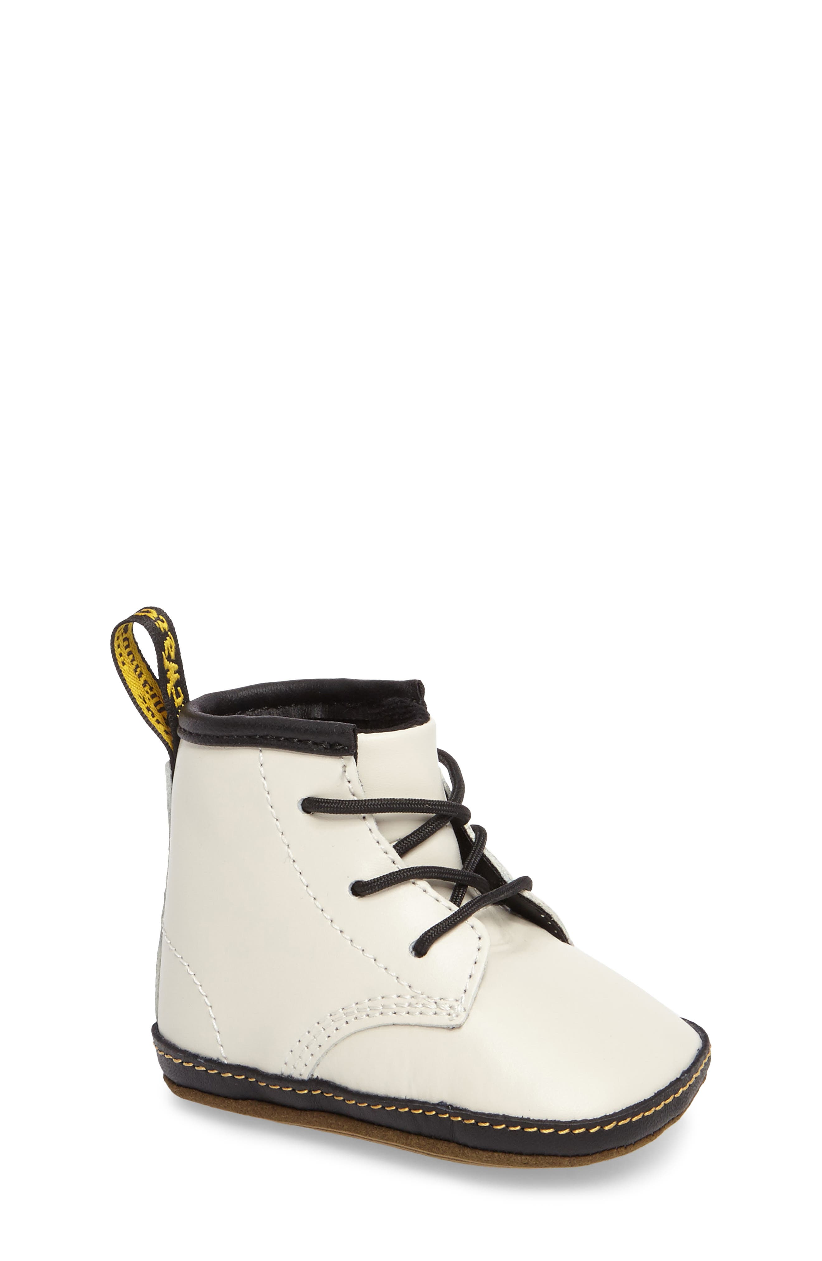 Alternate Image 1 Selected - Dr. Martens Auburn Crib Bootie (Baby)