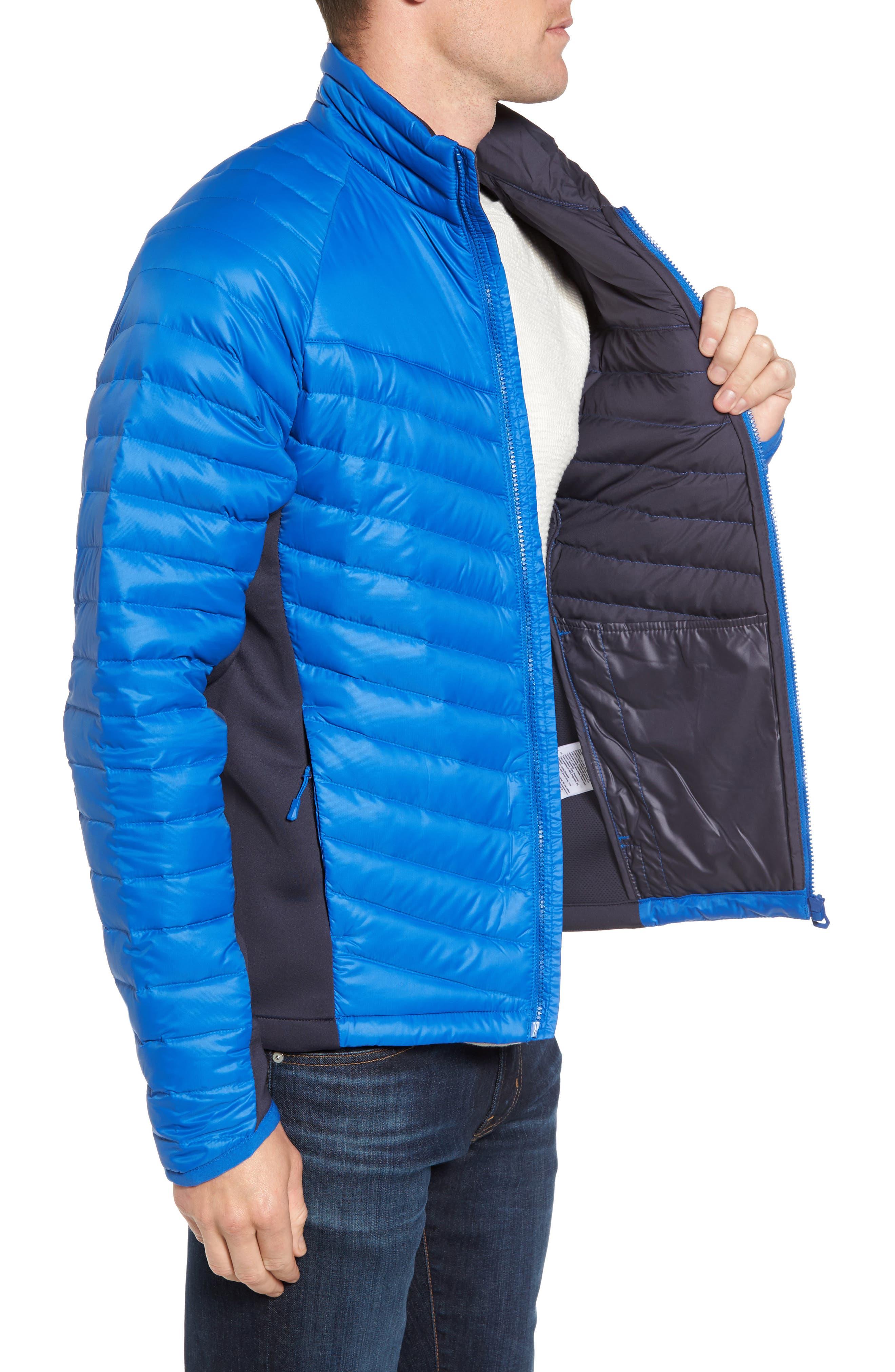 Verglas Insulator Hybrid Jacket,                             Alternate thumbnail 3, color,                             563 Olympian Blue
