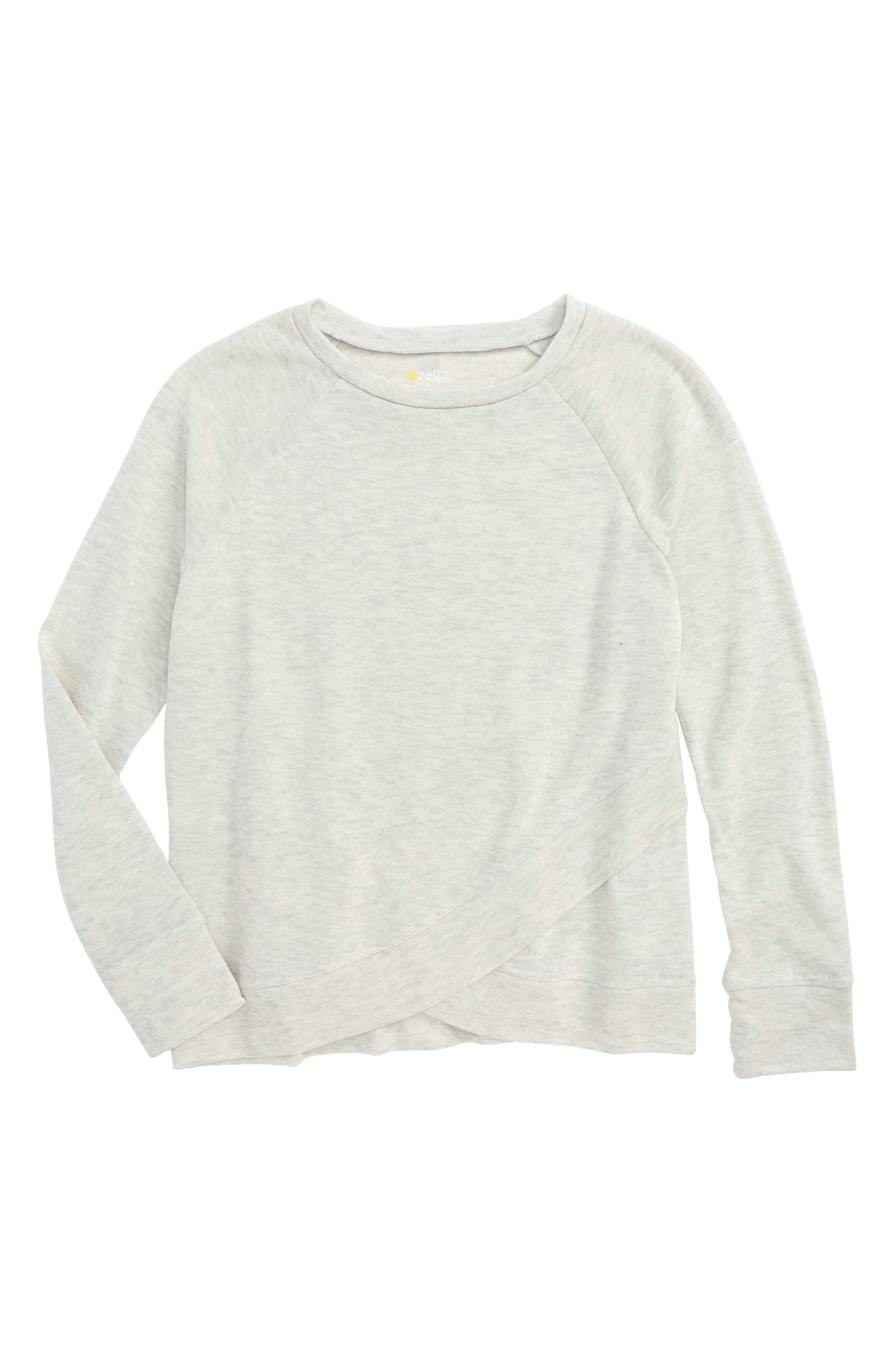 Zella Girl Petal Sweater (Little Girls & Big Girls)