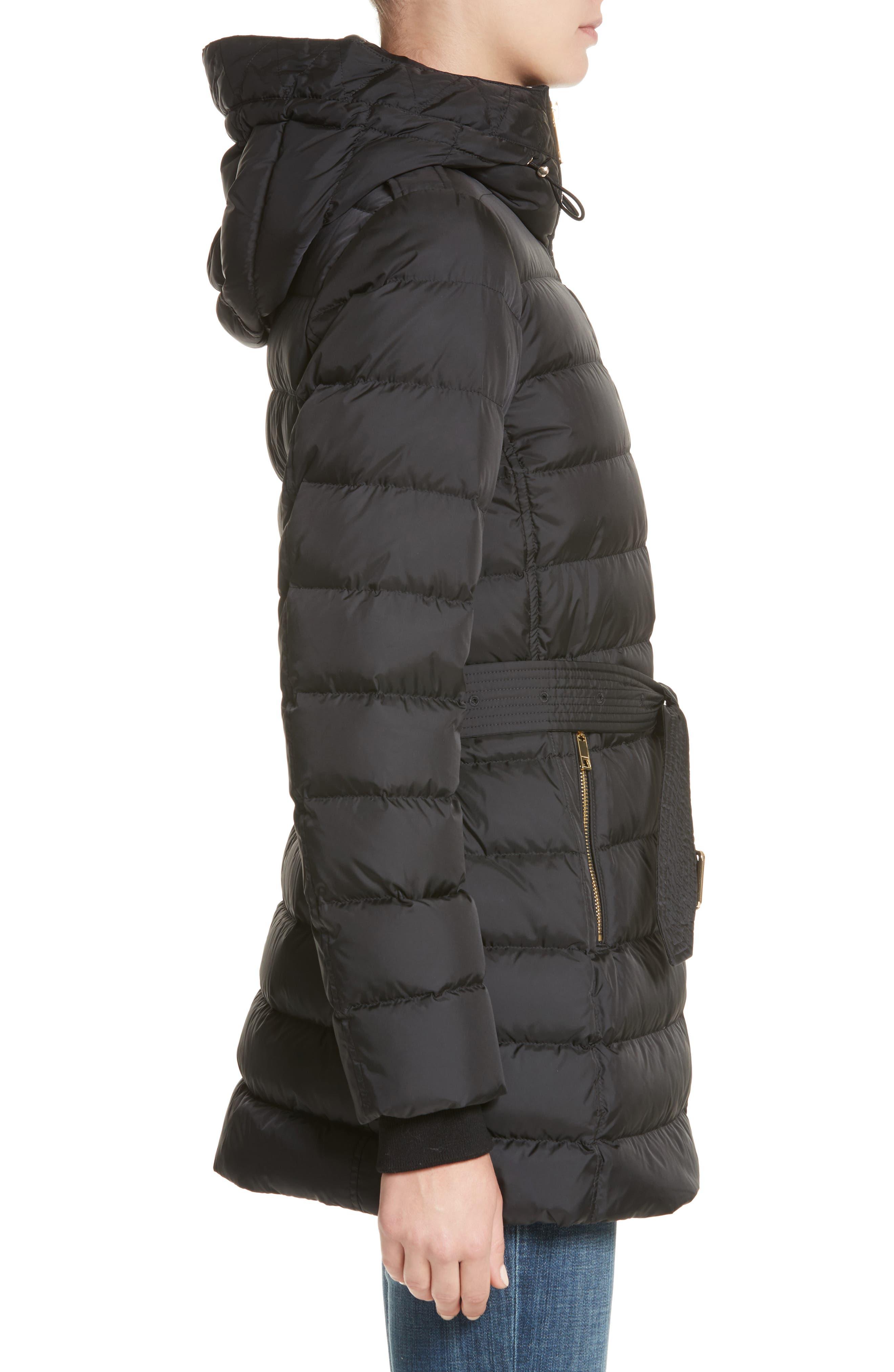 Alternate Image 3  - Burberry Limefield Hooded Puffer Coat