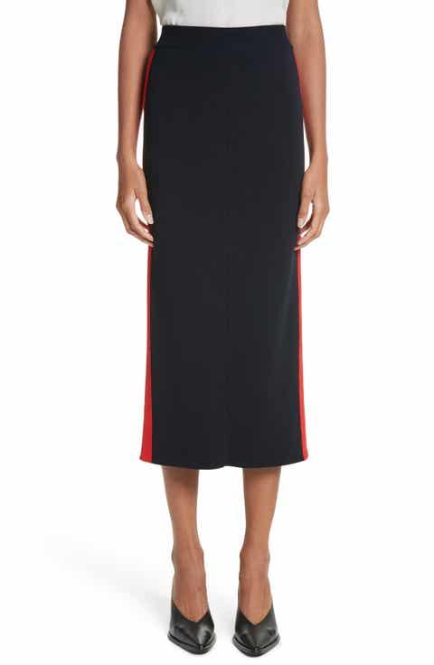 Stella McCartney Stripe Cotton Skirt Best Price