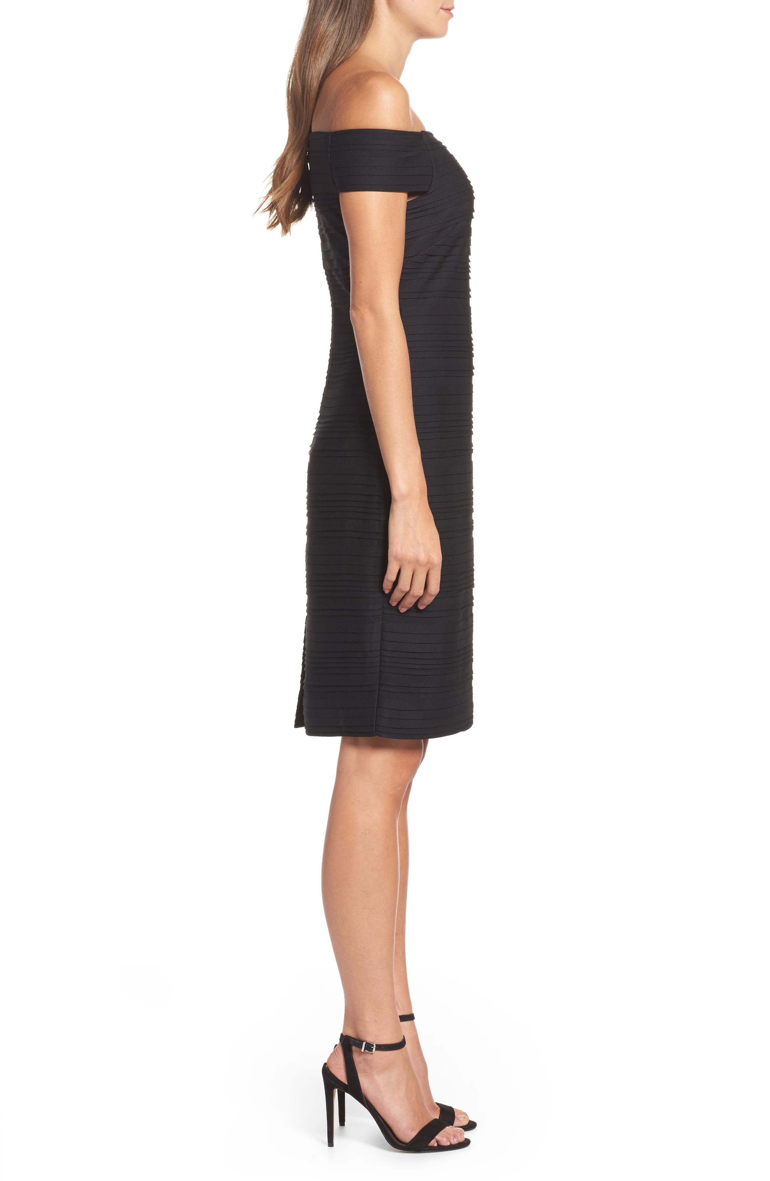 Alternate Image 3  - Vince Camuto Off the Shoulder Sheath Dress