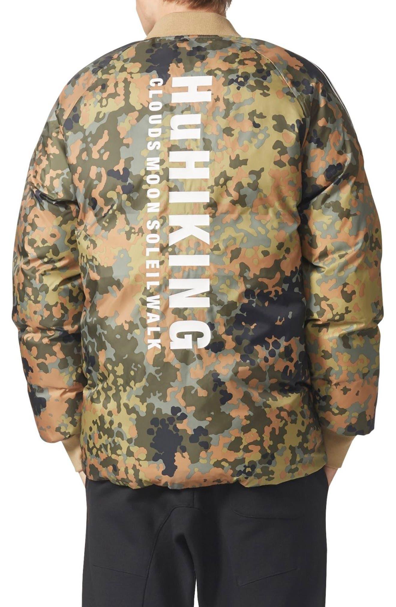 Originals SST Reversible Winter Jacket,                             Alternate thumbnail 2, color,                             Camo/ Hemp