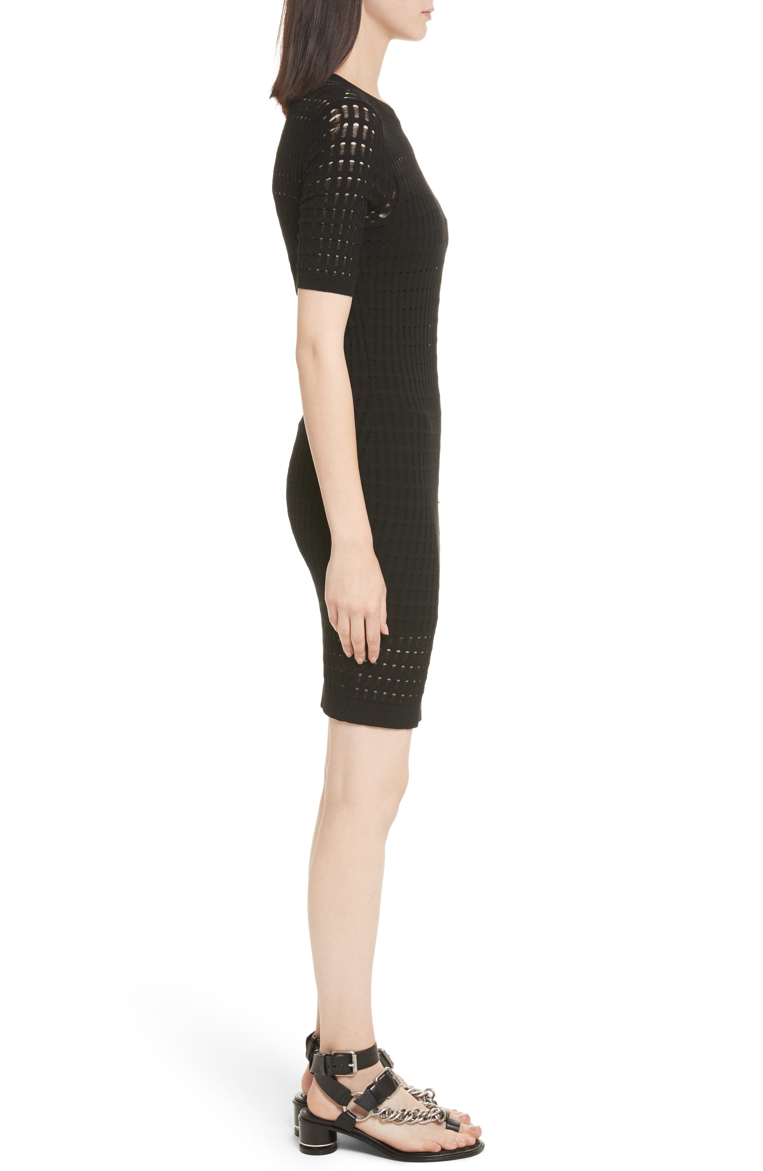 Alternate Image 3  - T by Alexander Wang Float Stitch Lace Dress