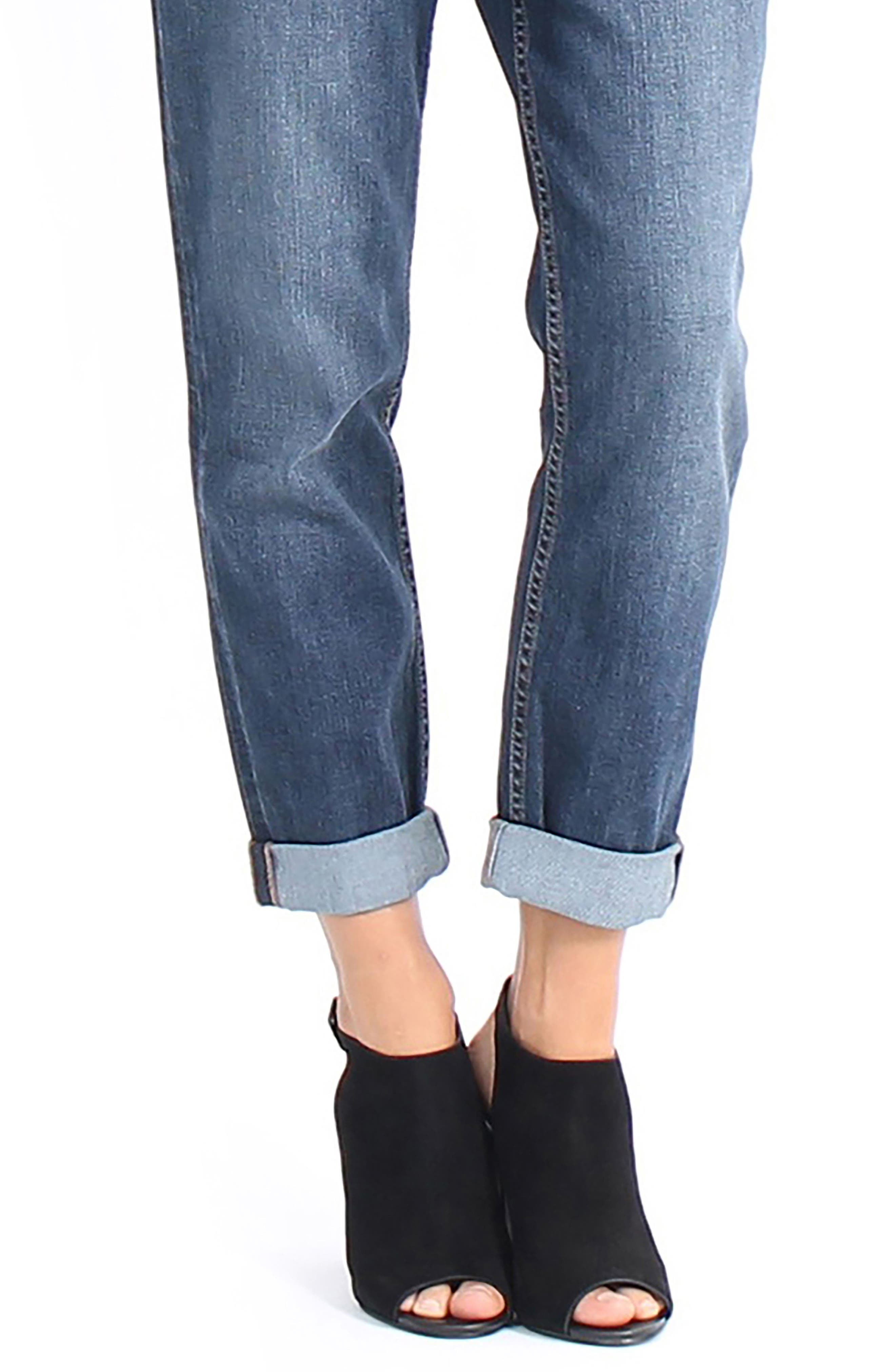 Alternate Image 4  - Level 99 Sienna Stretch Ankle Jeans
