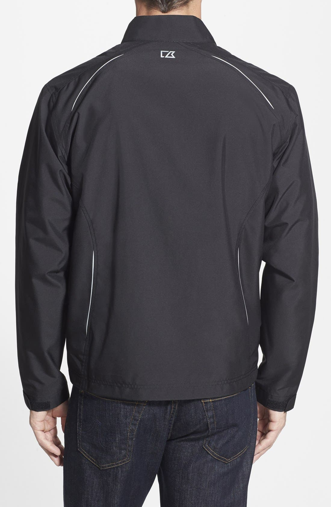 Carolina Panthers - Beacon WeatherTec Wind & Water Resistant Jacket,                             Alternate thumbnail 2, color,                             Black