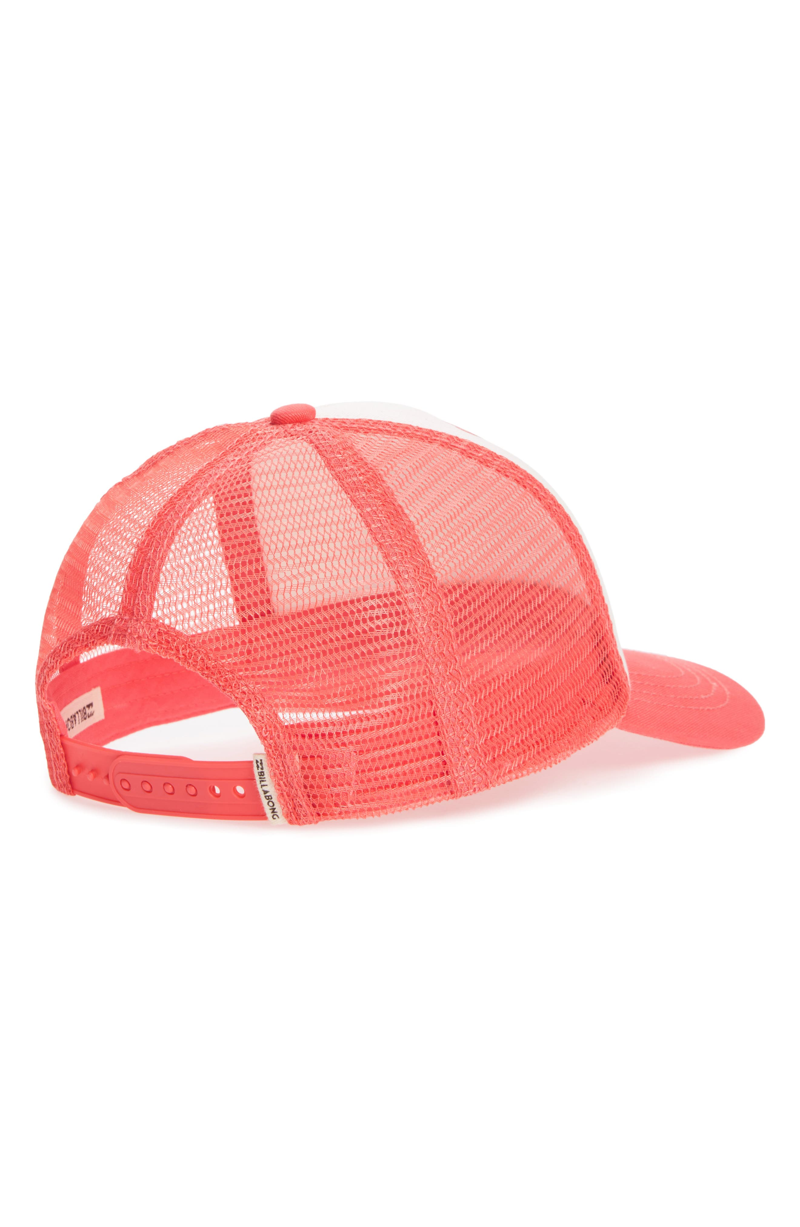 Pitstop Trucker Hat,                             Alternate thumbnail 2, color,                             Pink Crush