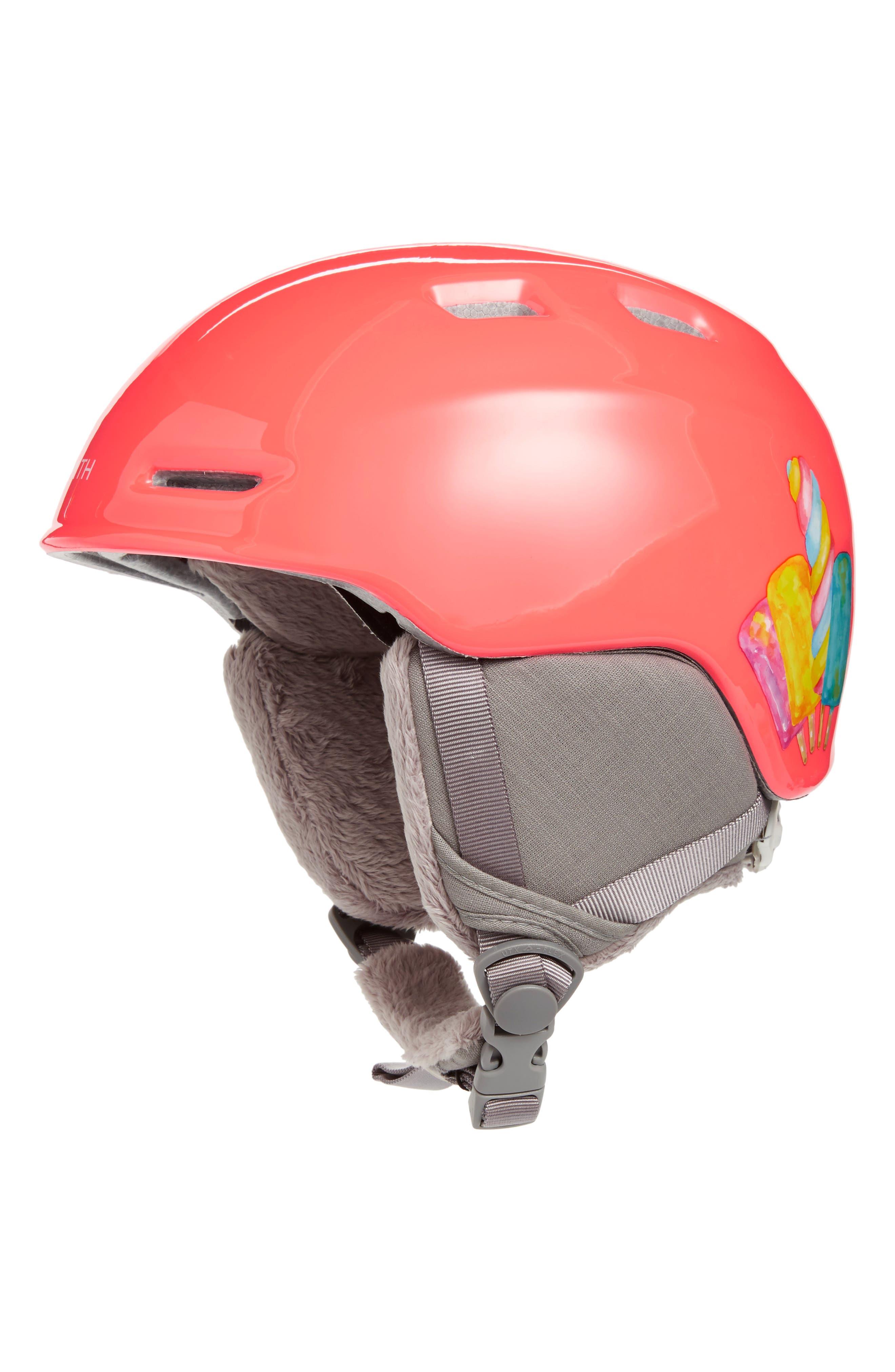 Main Image - Smith 'Zoom Jr.' Snow Helmet (Juniors)