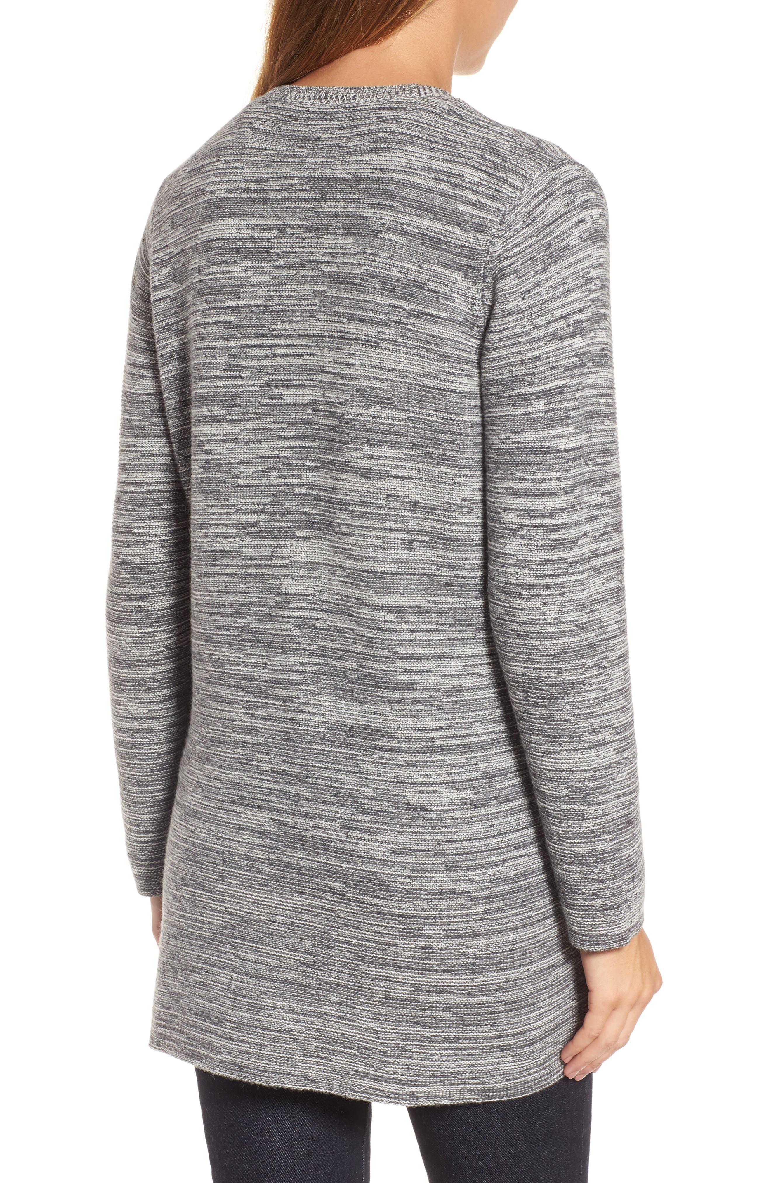 Alternate Image 2  - Eileen Fisher Organic Cotton Blend Boyfriend Cardigan