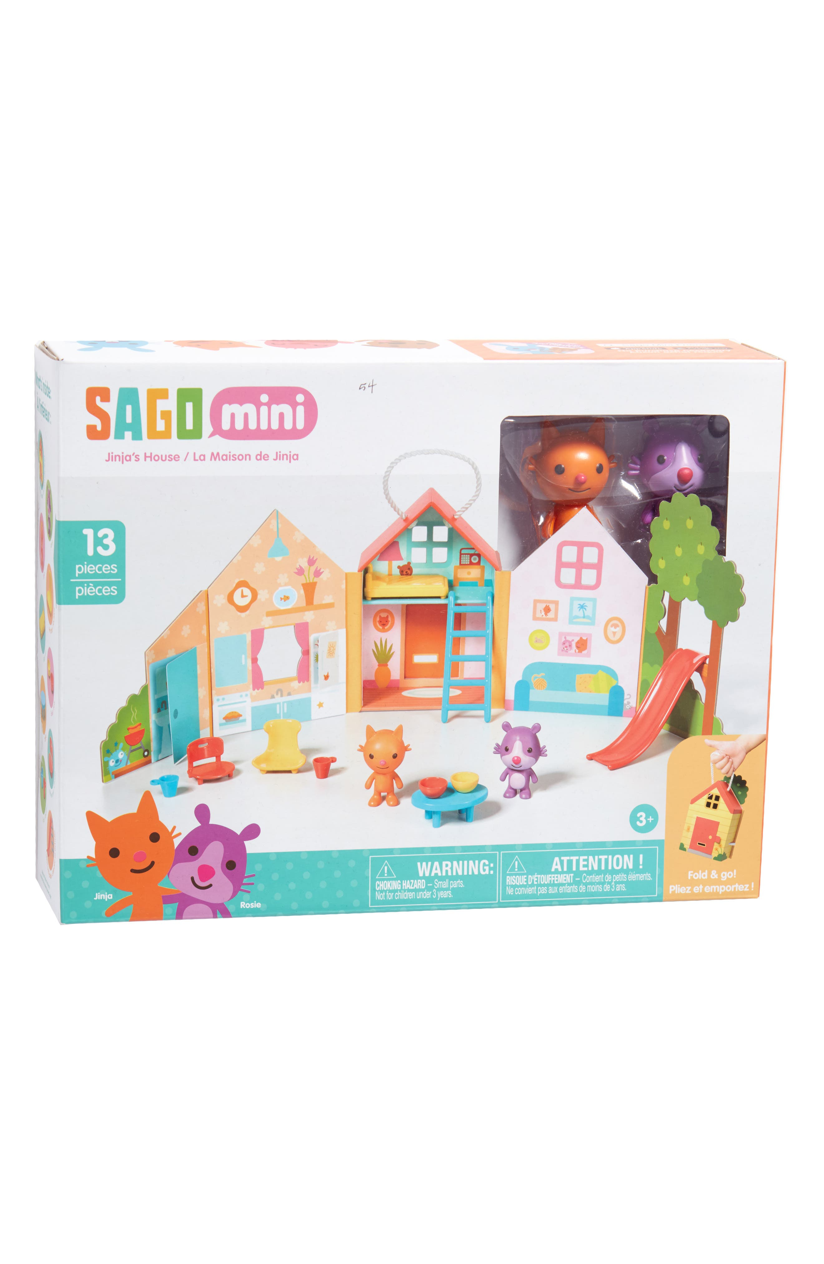 Alternate Image 5  - Sago Mini Jinja's House Portable Play Set