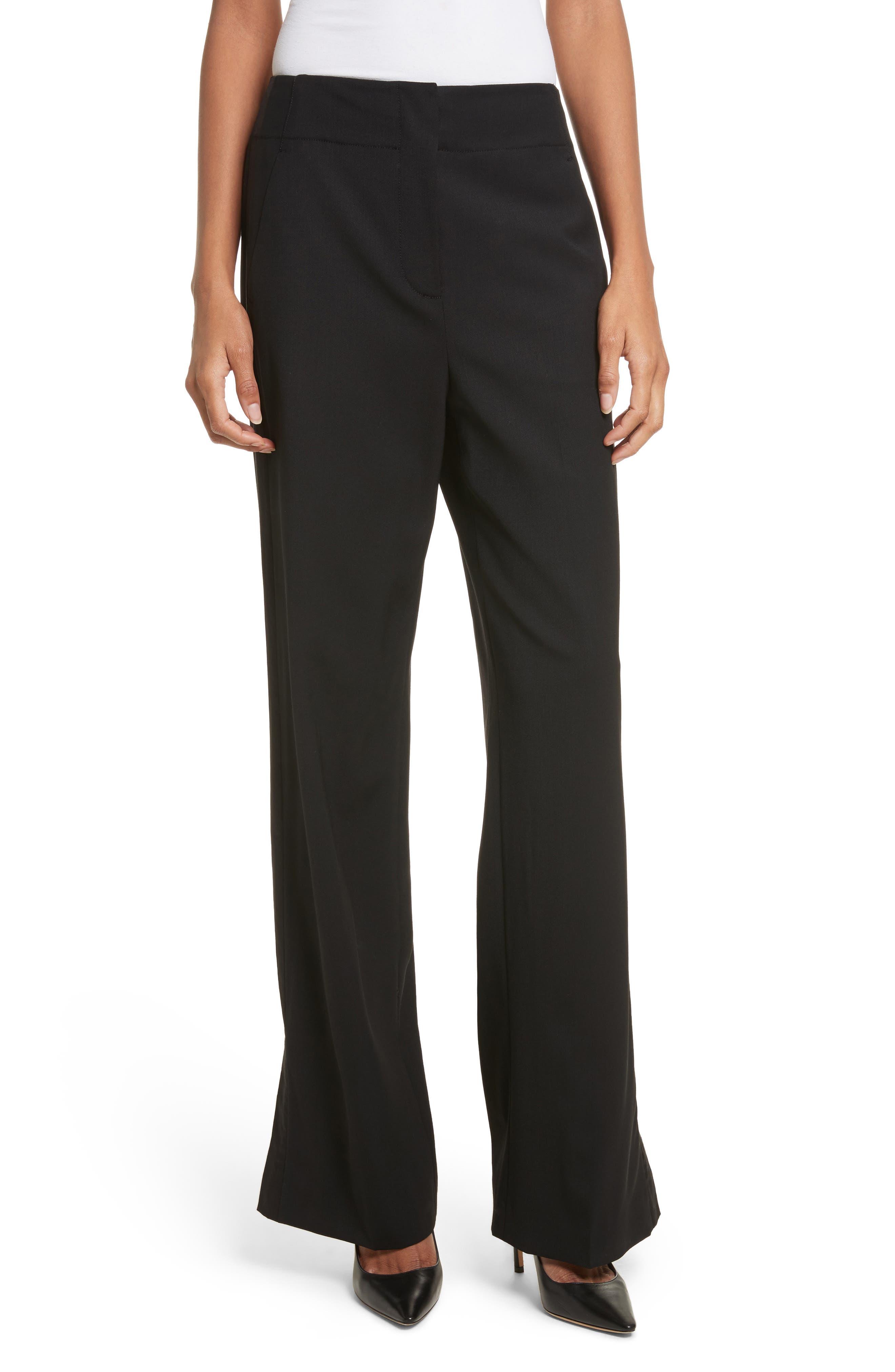 Alternate Image 1 Selected - Rebecca Stretch Wool Tuxedo Pants
