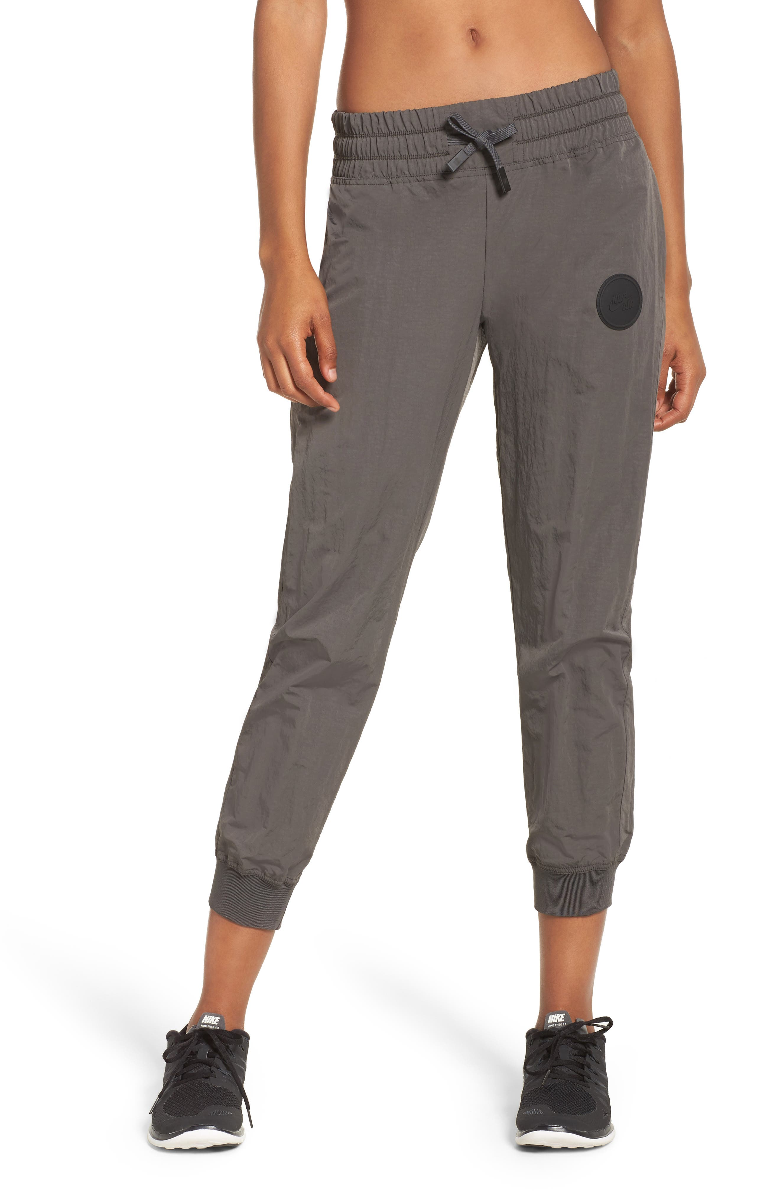 Air Drawstring Sweatpants,                             Alternate thumbnail 4, color,                             Midnight Fog
