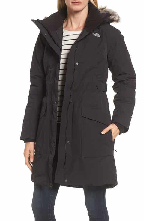 Womens the north face coats jackets nordstrom the north face outer boroughs waterproof 550 fill power down parka with faux fur trim sciox Image collections