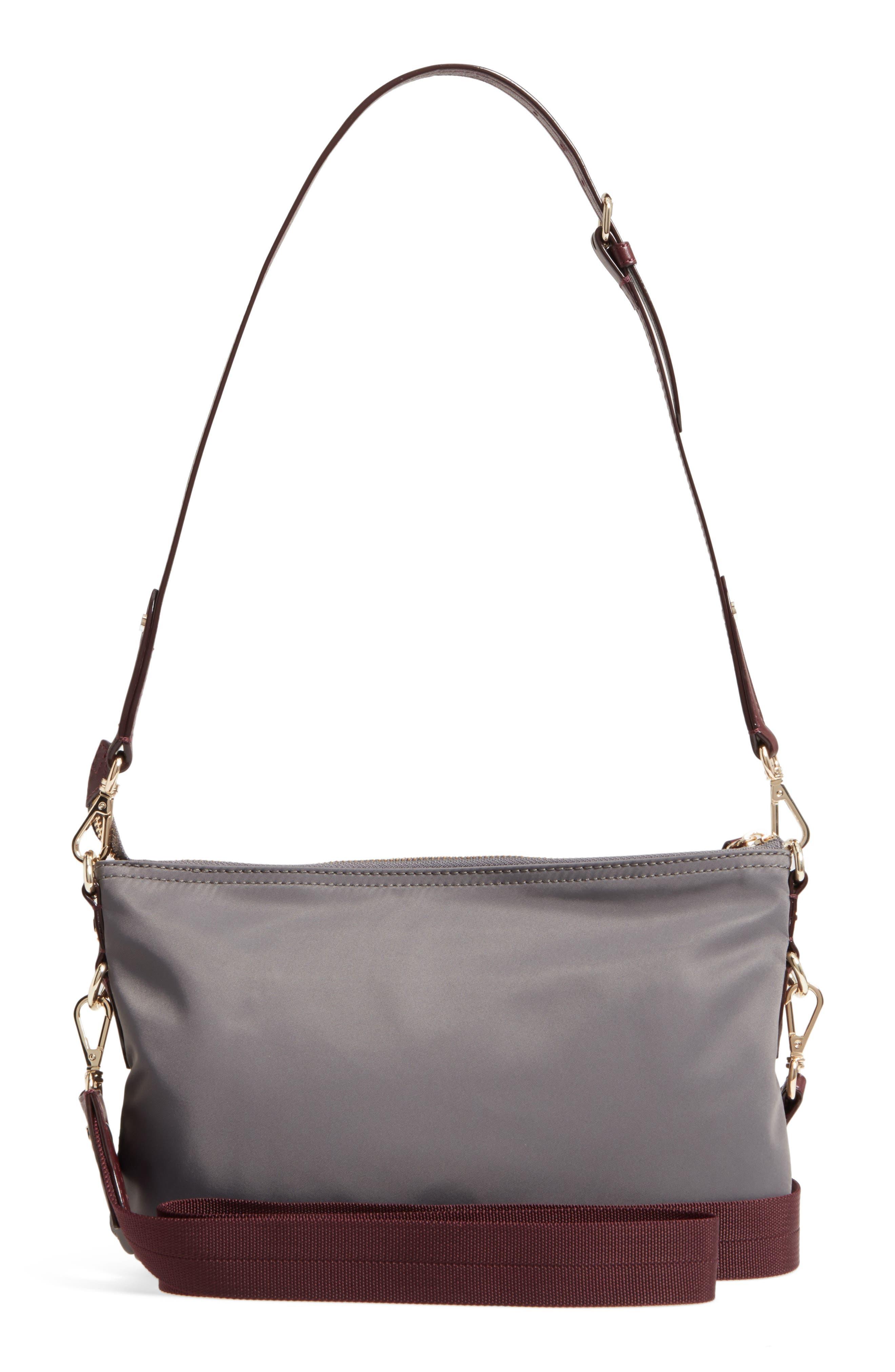 Toni Bedford Nylon Crossbody Bag,                             Alternate thumbnail 3, color,                             Magnet