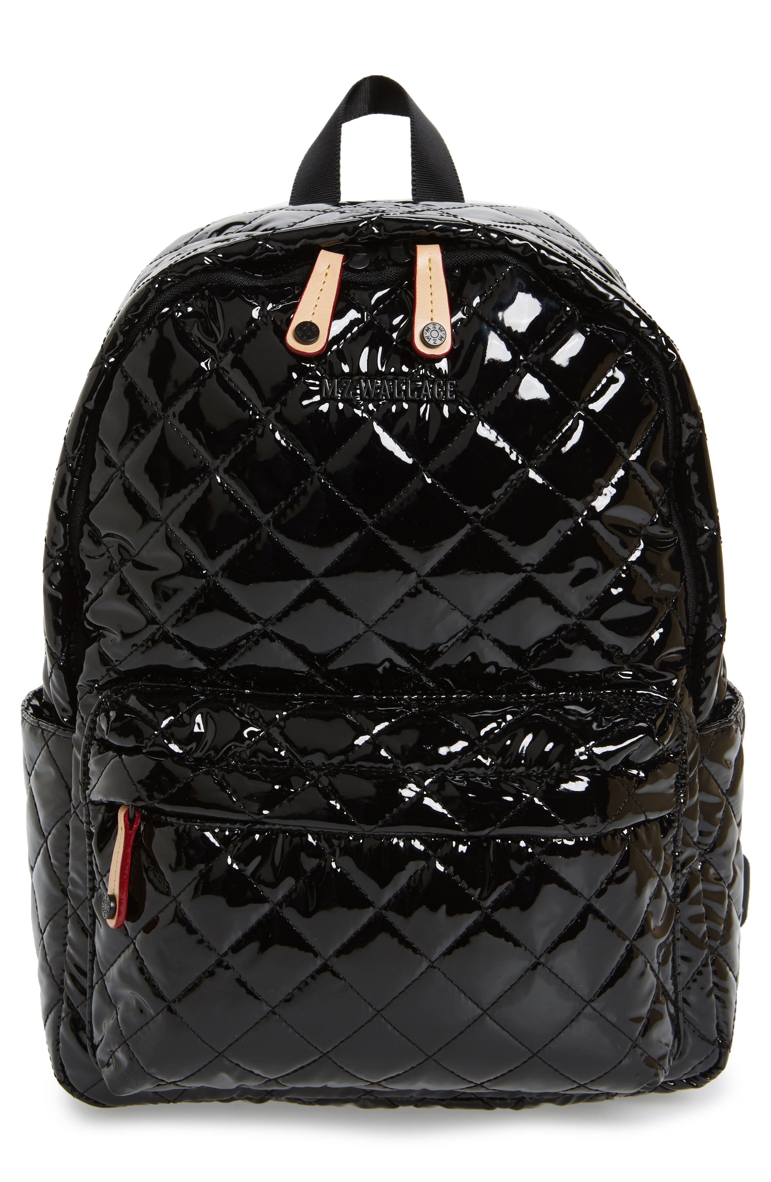 MZ Wallace 'Small Metro' Quilted Oxford Nylon Backpack
